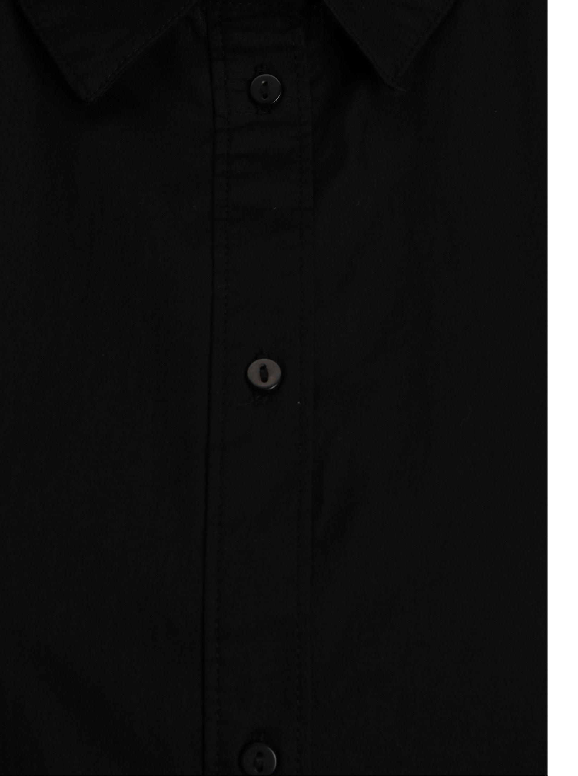 03275e5c5b5c Čierna dlhá košeľa Jacqueline de Yong Annie ...