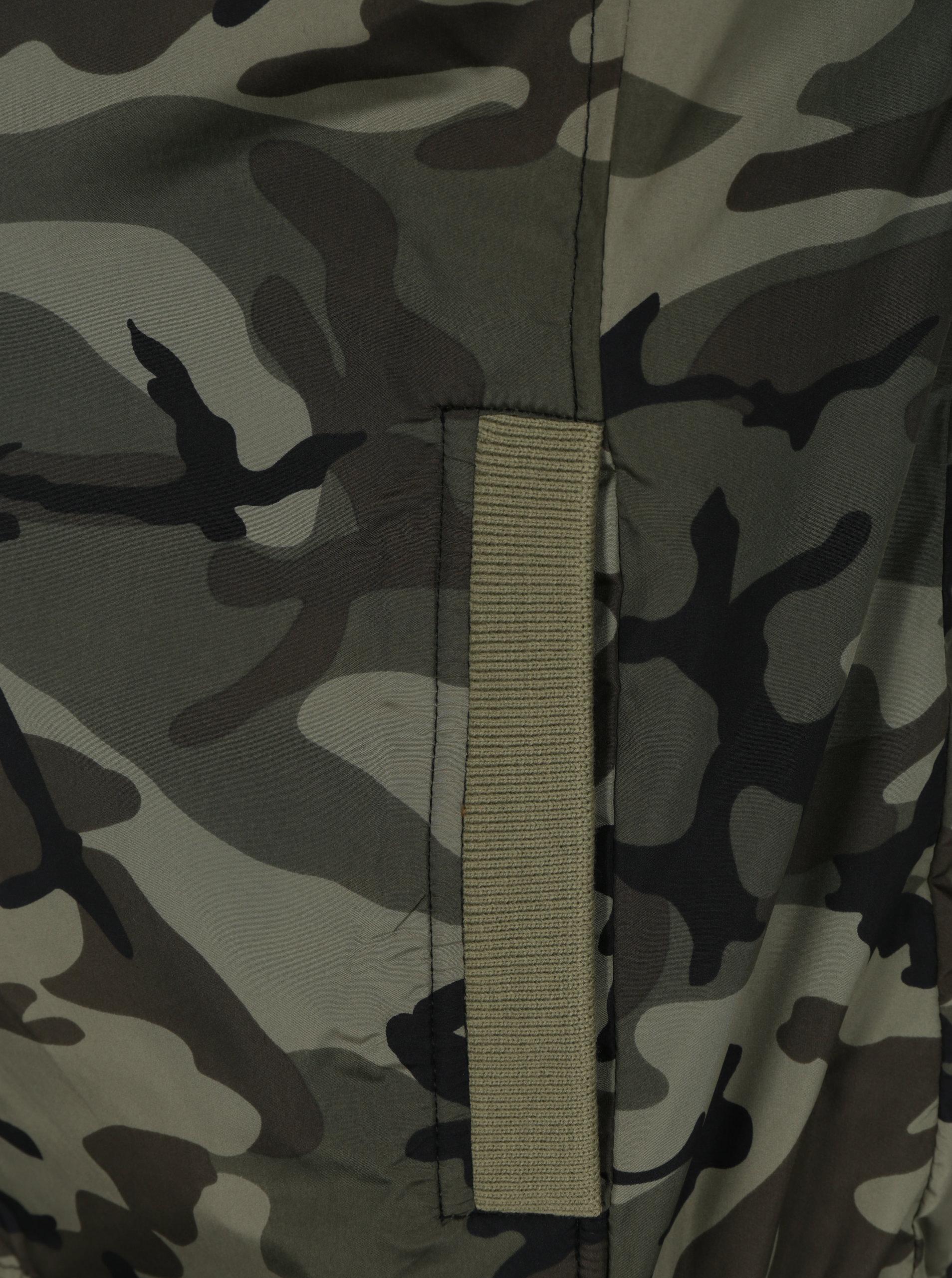 179bdee83 Zelený tenký maskáčový bomber Shine Original | ZOOT.sk