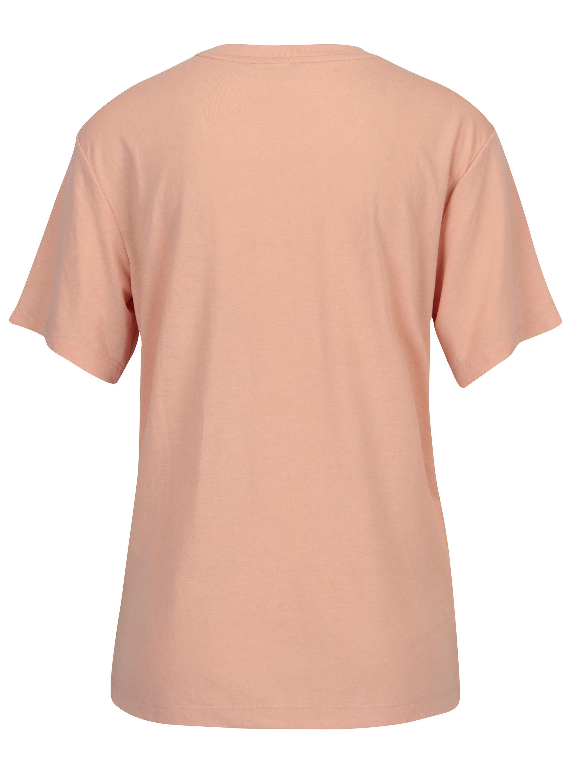 c457fc3c6836 Růžové dámské tričko s potiskem Puma ...