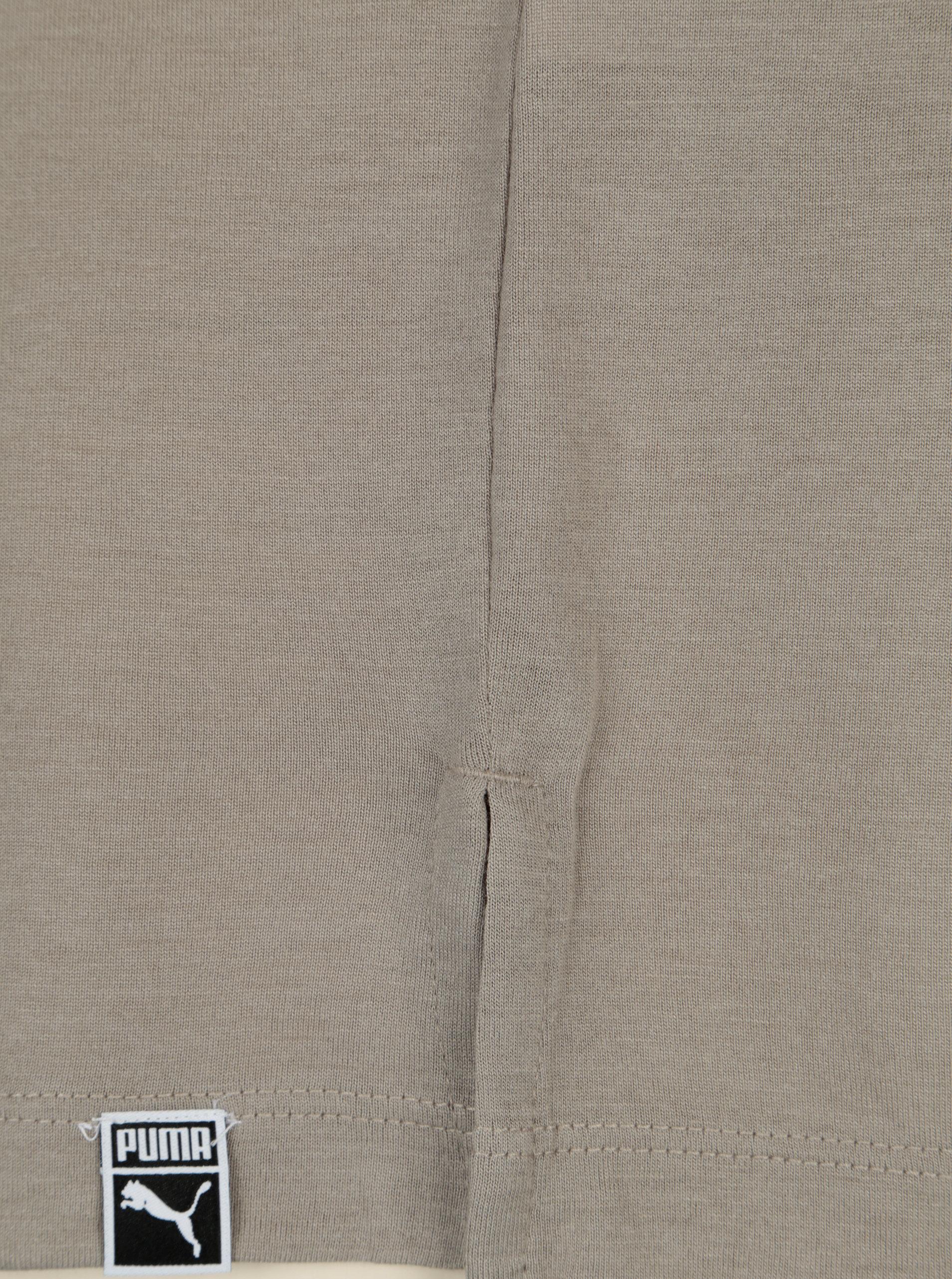 Šedé dámské tričko s potiskem Puma ... d72943133a