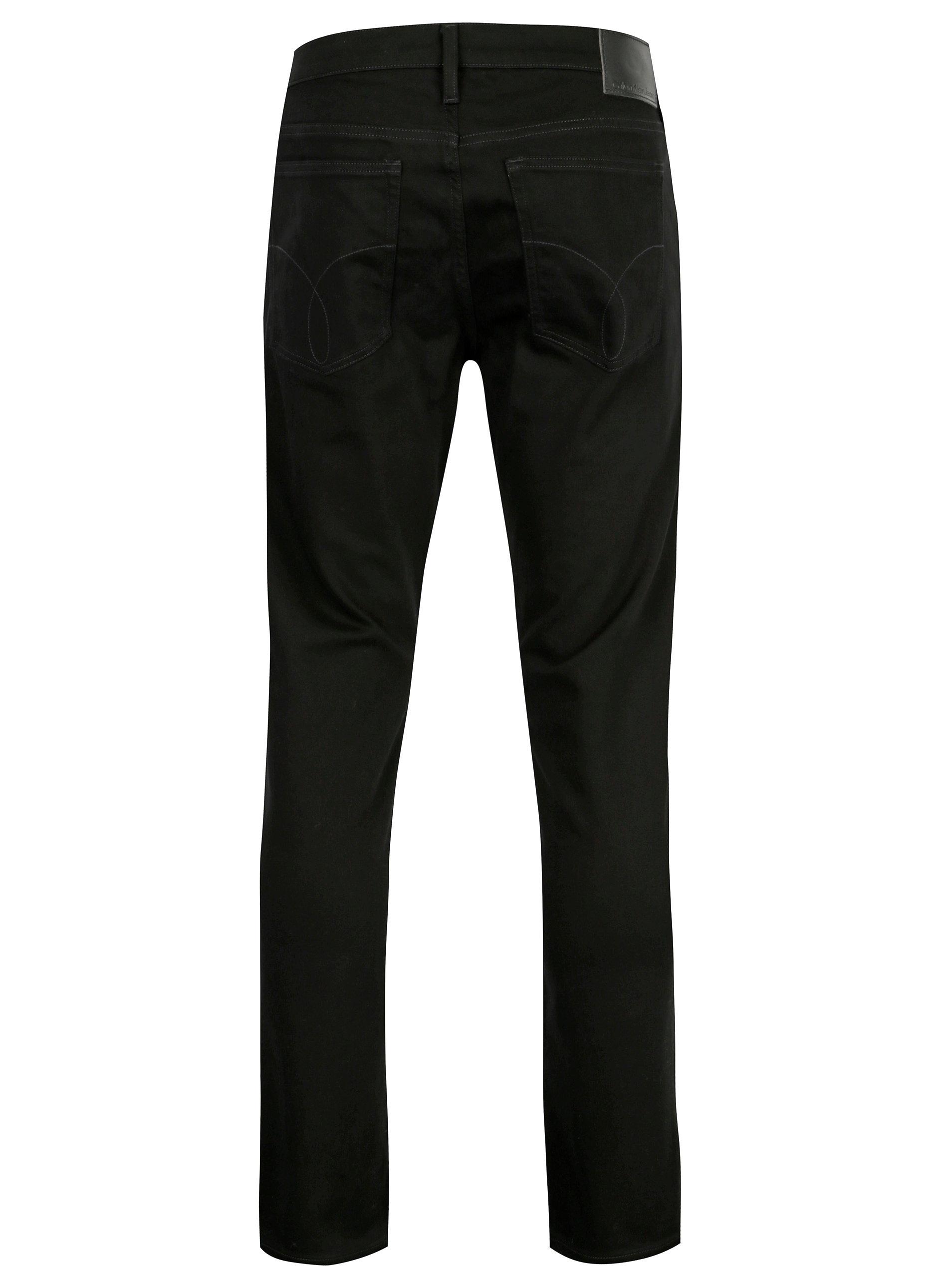 e490c371f71 Černé pánské straight džíny Calvin Klein Jeans ...