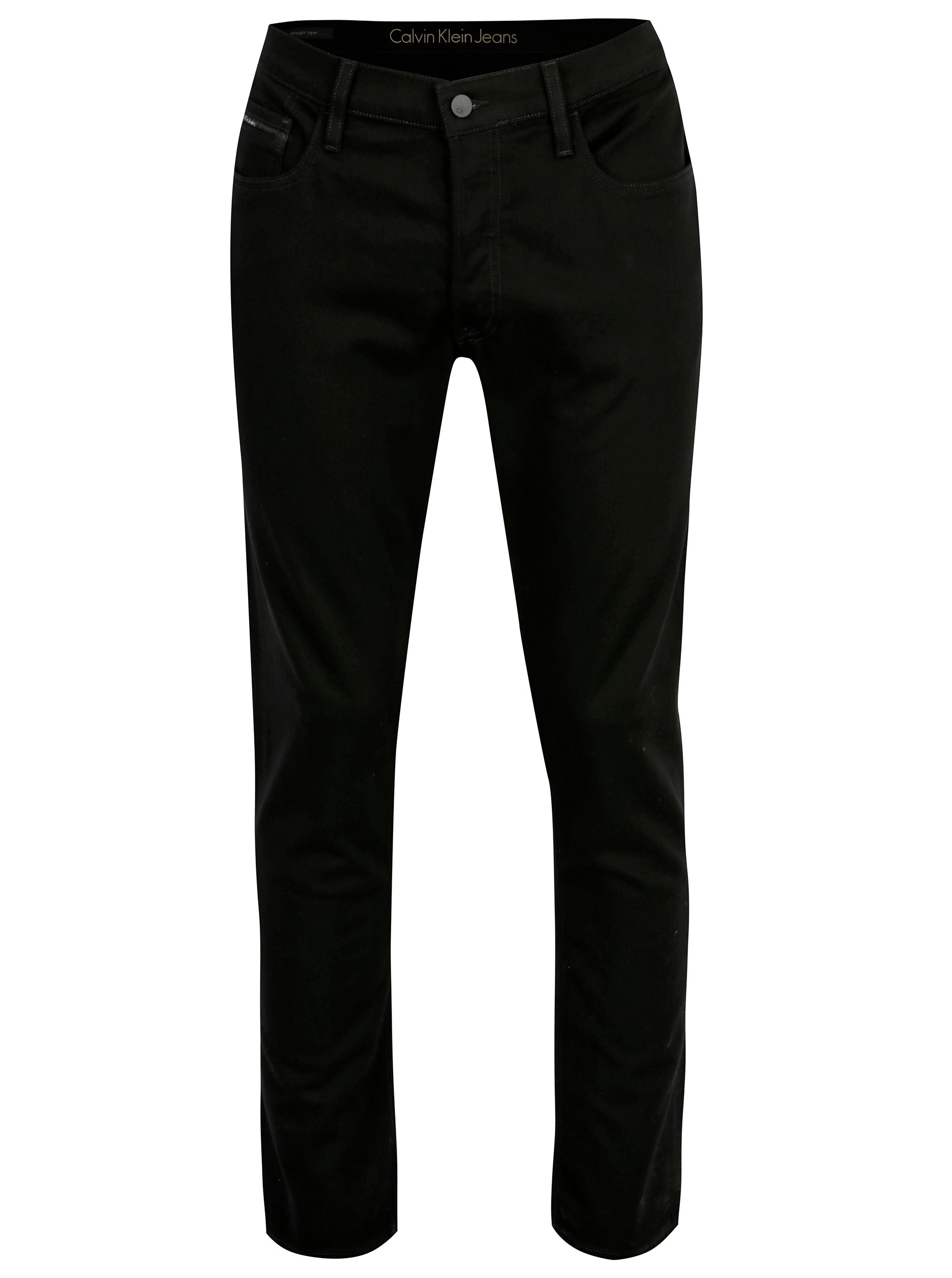 b0b1643fefb Černé pánské straight džíny Calvin Klein Jeans ...