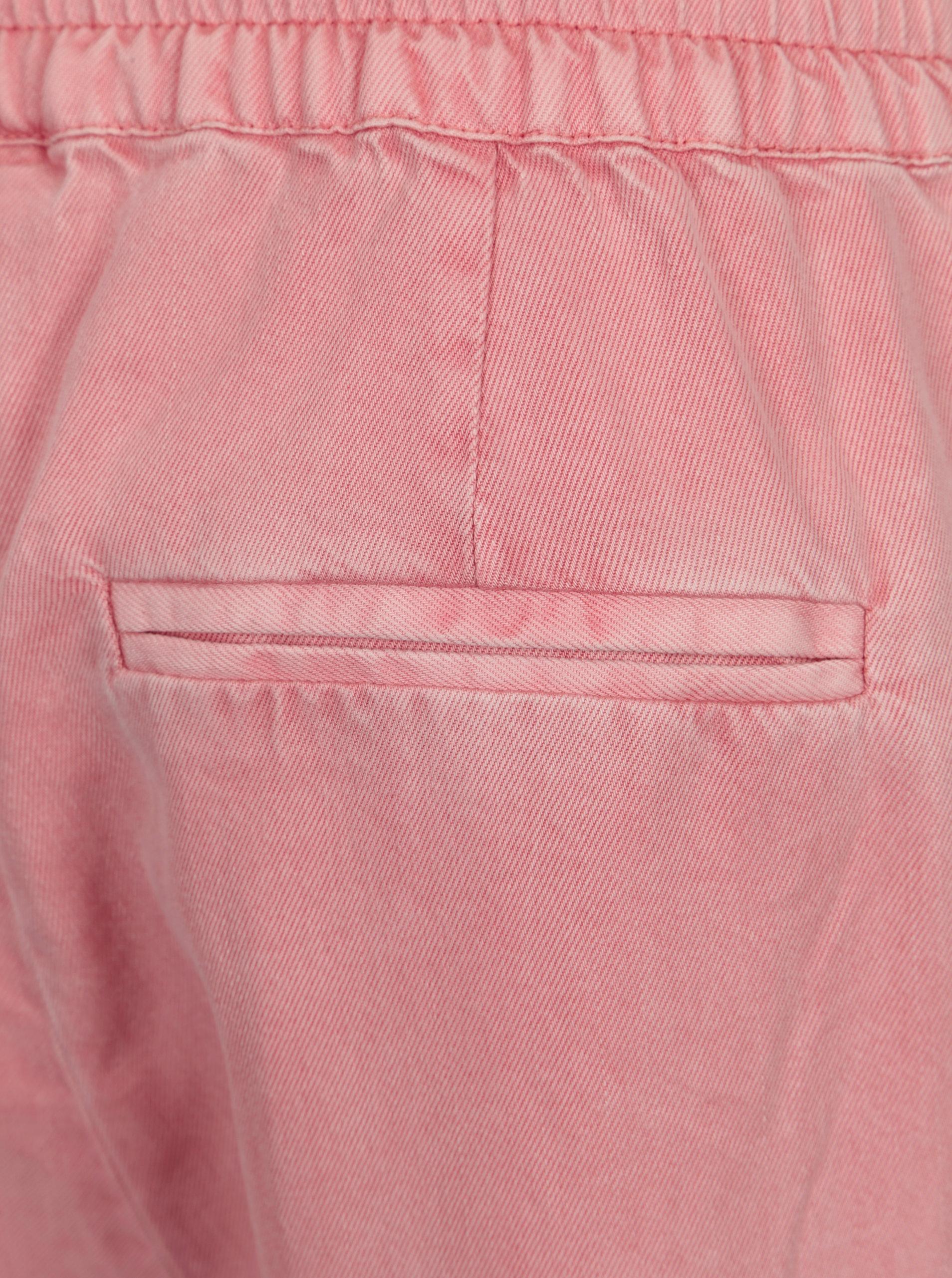941e1eb97bbc Ružové nohavice VEOR MODA Rory ...