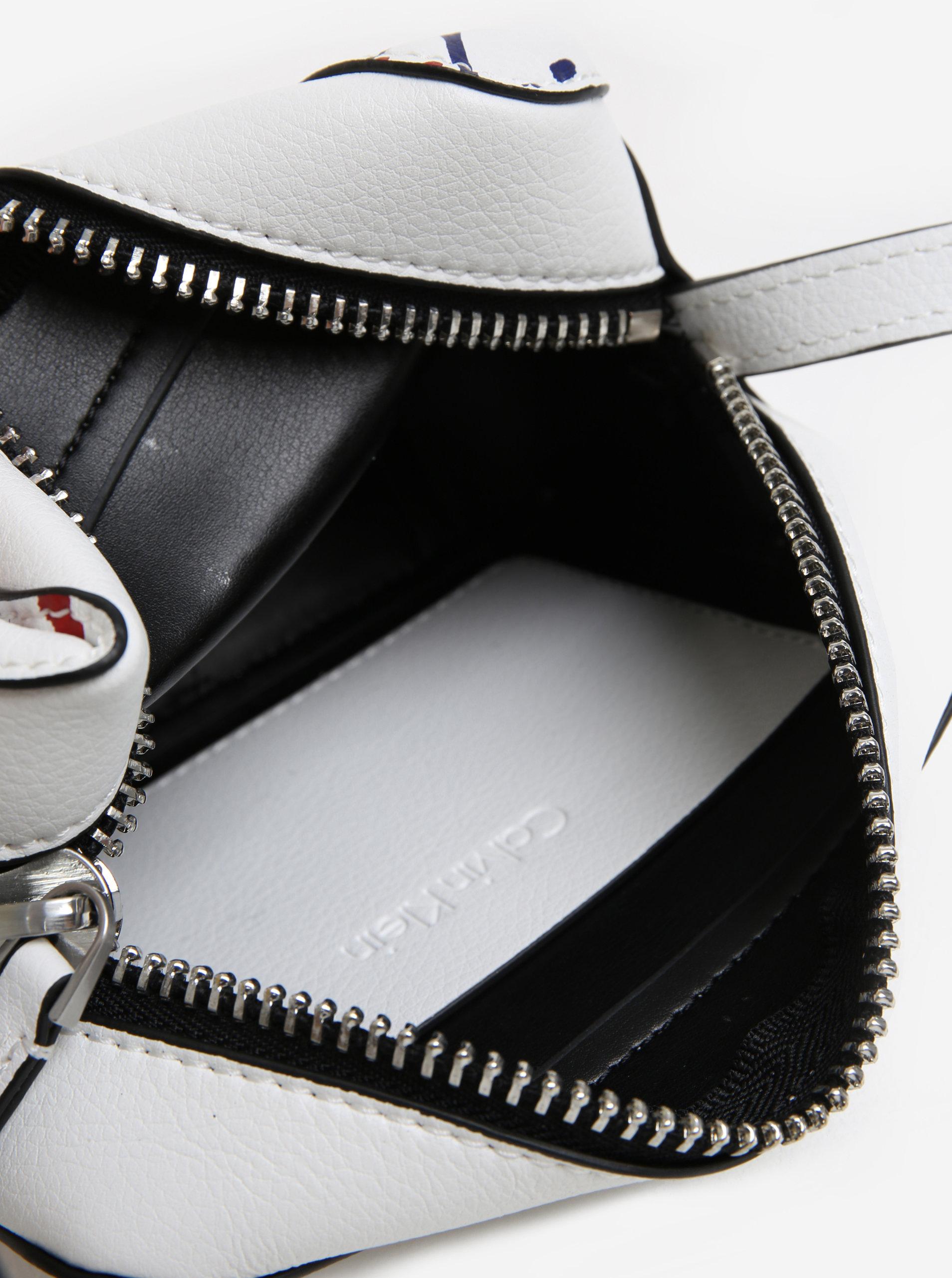 3b2791bf2 Biela malá crossbody kabelka Calvin Klein Jeans | ZOOT.sk