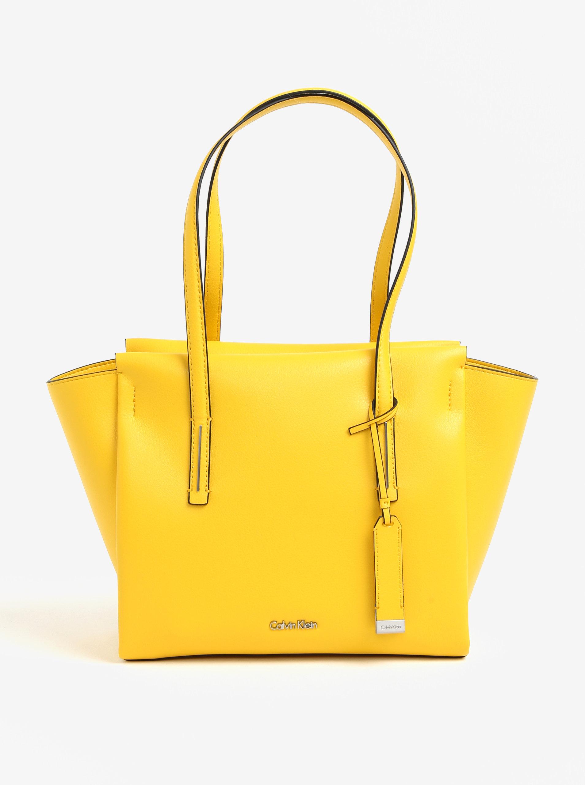 06519d5648 Žltá kabelka Calvin Klein Jeans ...