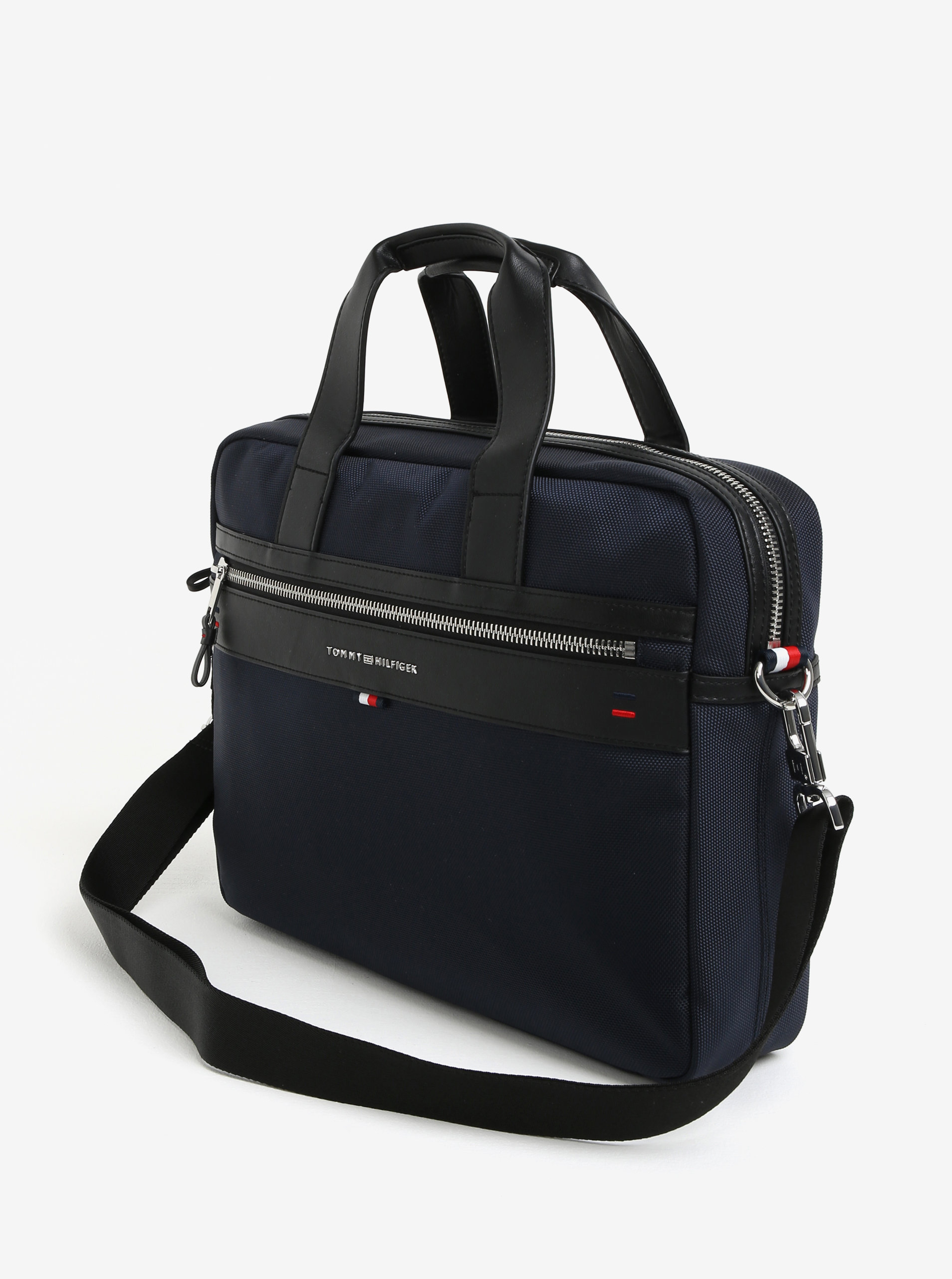 7f7837baa6 Tmavomodrá pánska taška na notebook Tommy Hilfiger Elevated ...