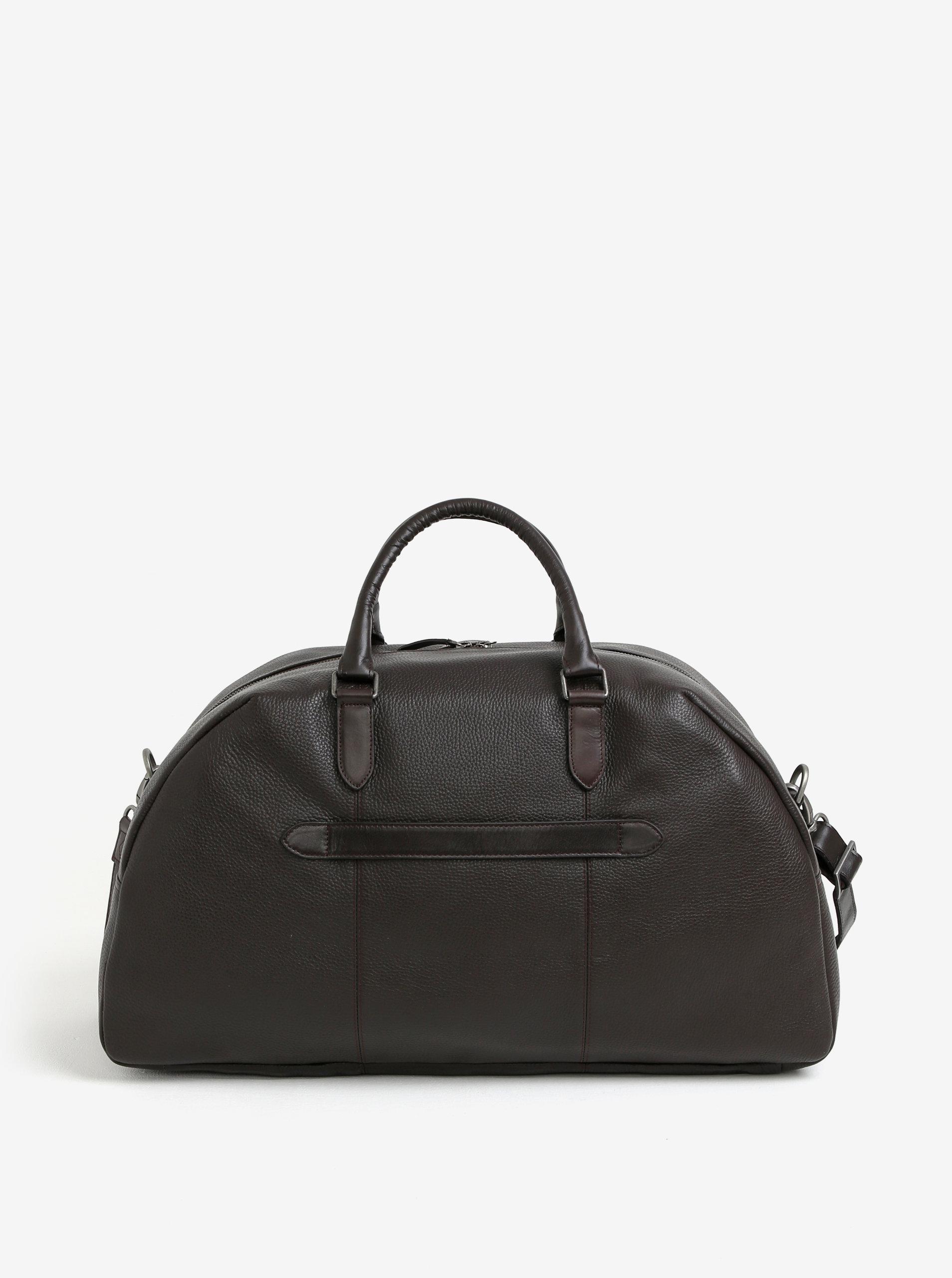886c236888 Hnedá pánska kožená cestovná taška Royal RepubliQ Omega ...