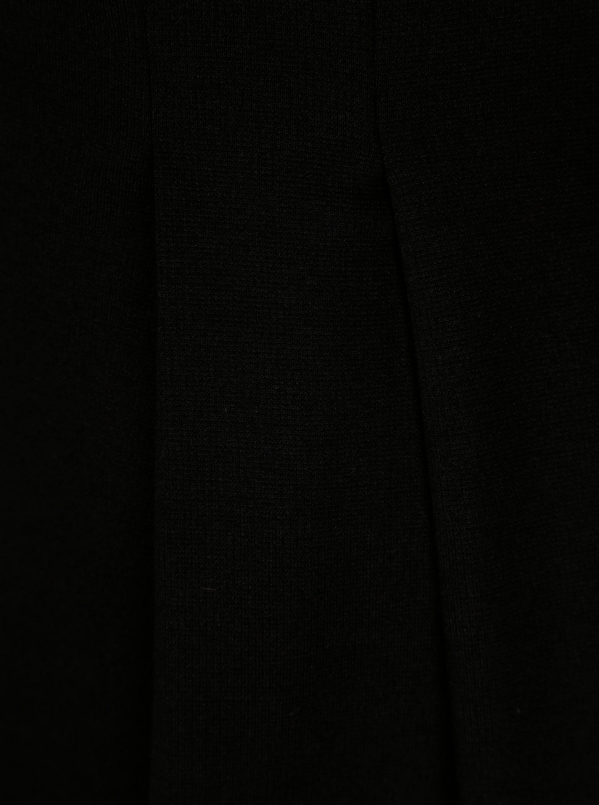 Černé šaty s 3 4 rukávem ONLY Vicky ... 6628d9d8c4