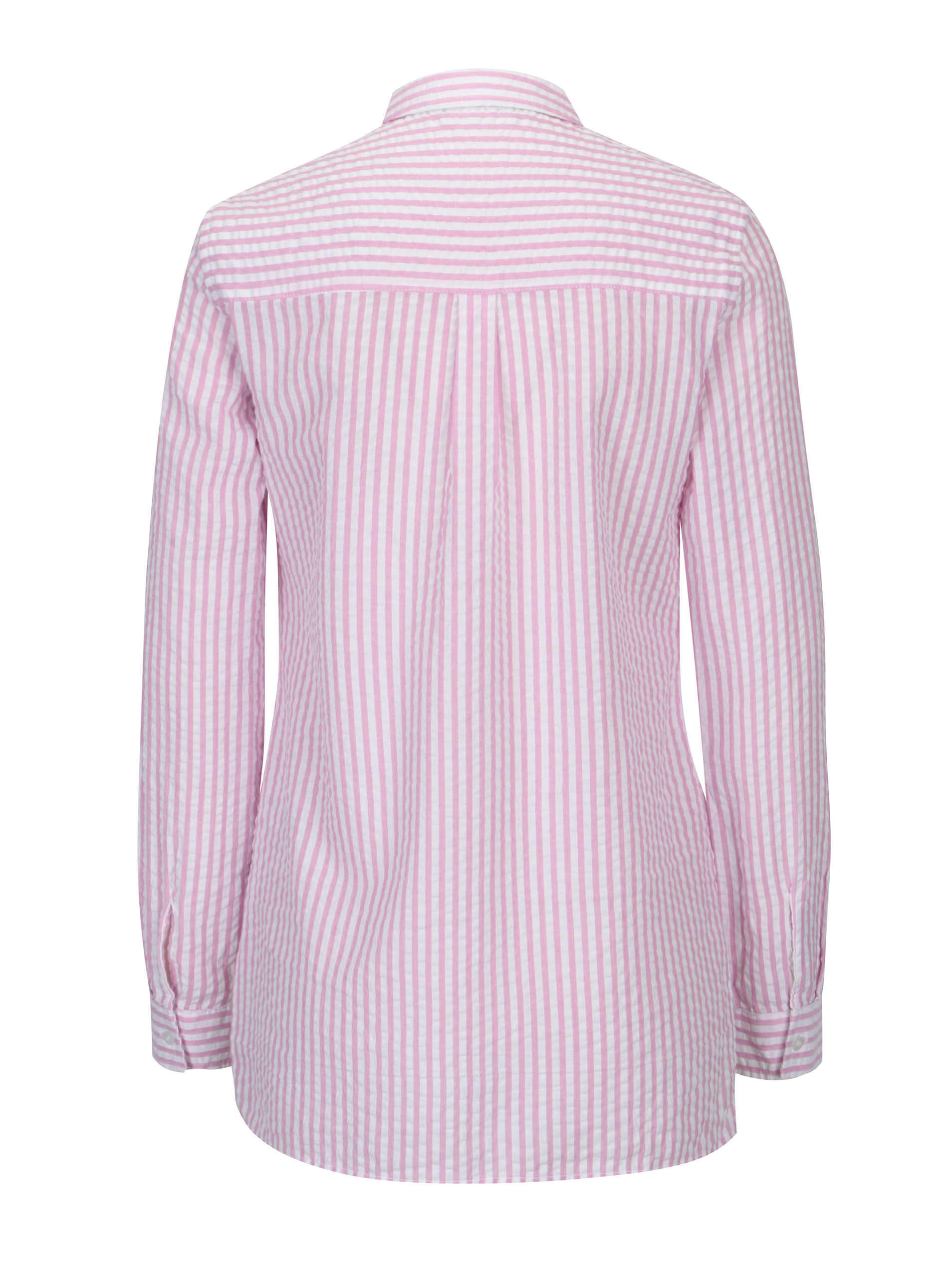 0e1d39757d93 Bielo-ružová pruhovaná košeľa s vreckami Dorothy Perkins ...