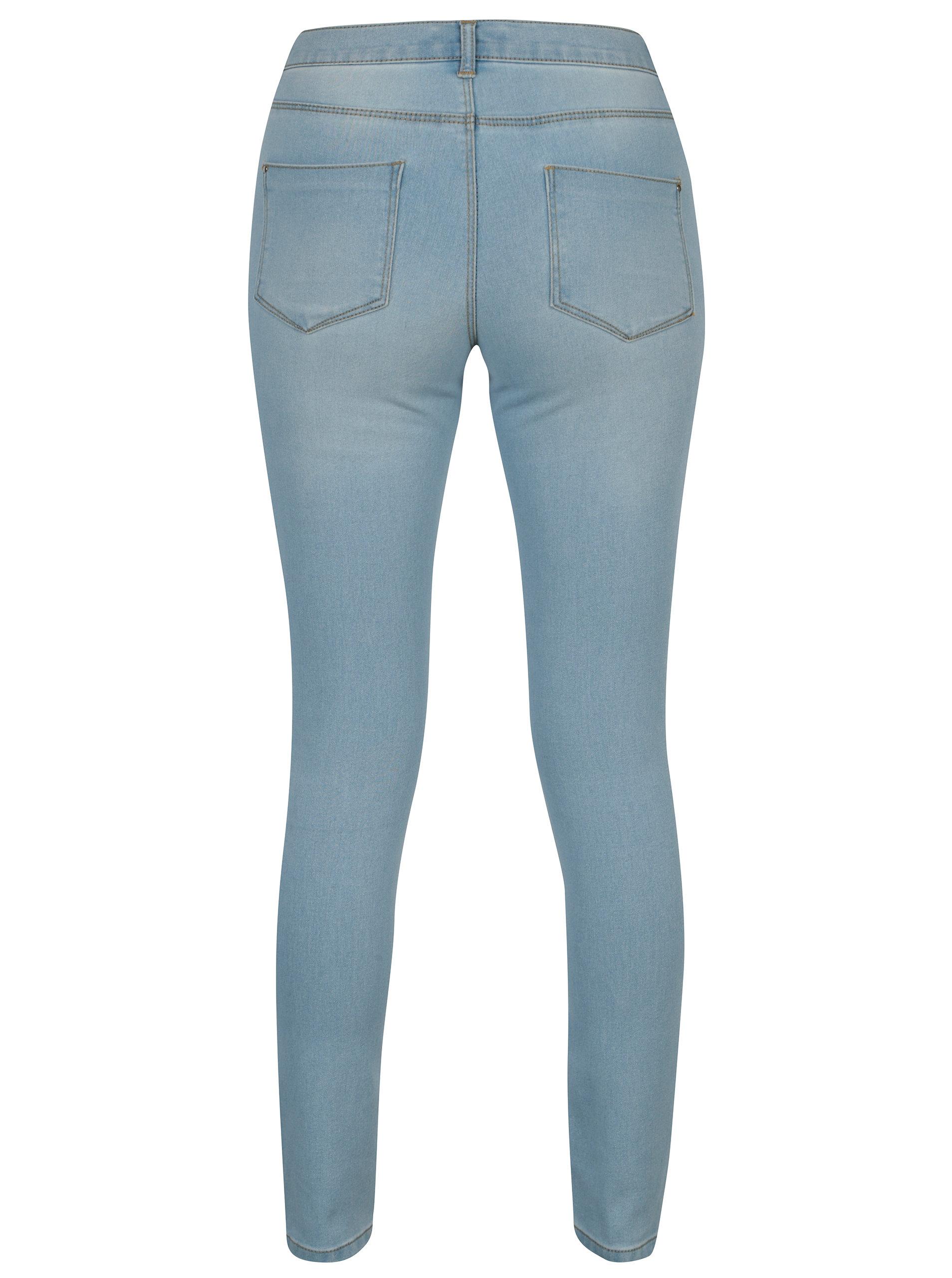 Světle modré super skinny džíny Dorothy Perkins Frankie ... 501de9fed2