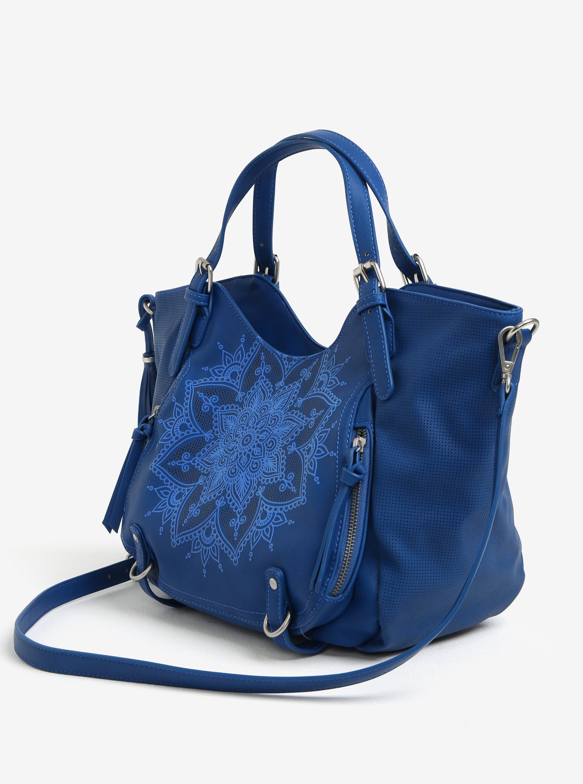 Modrá kabelka Desigual Rotterdam ... 7e59b111ffe