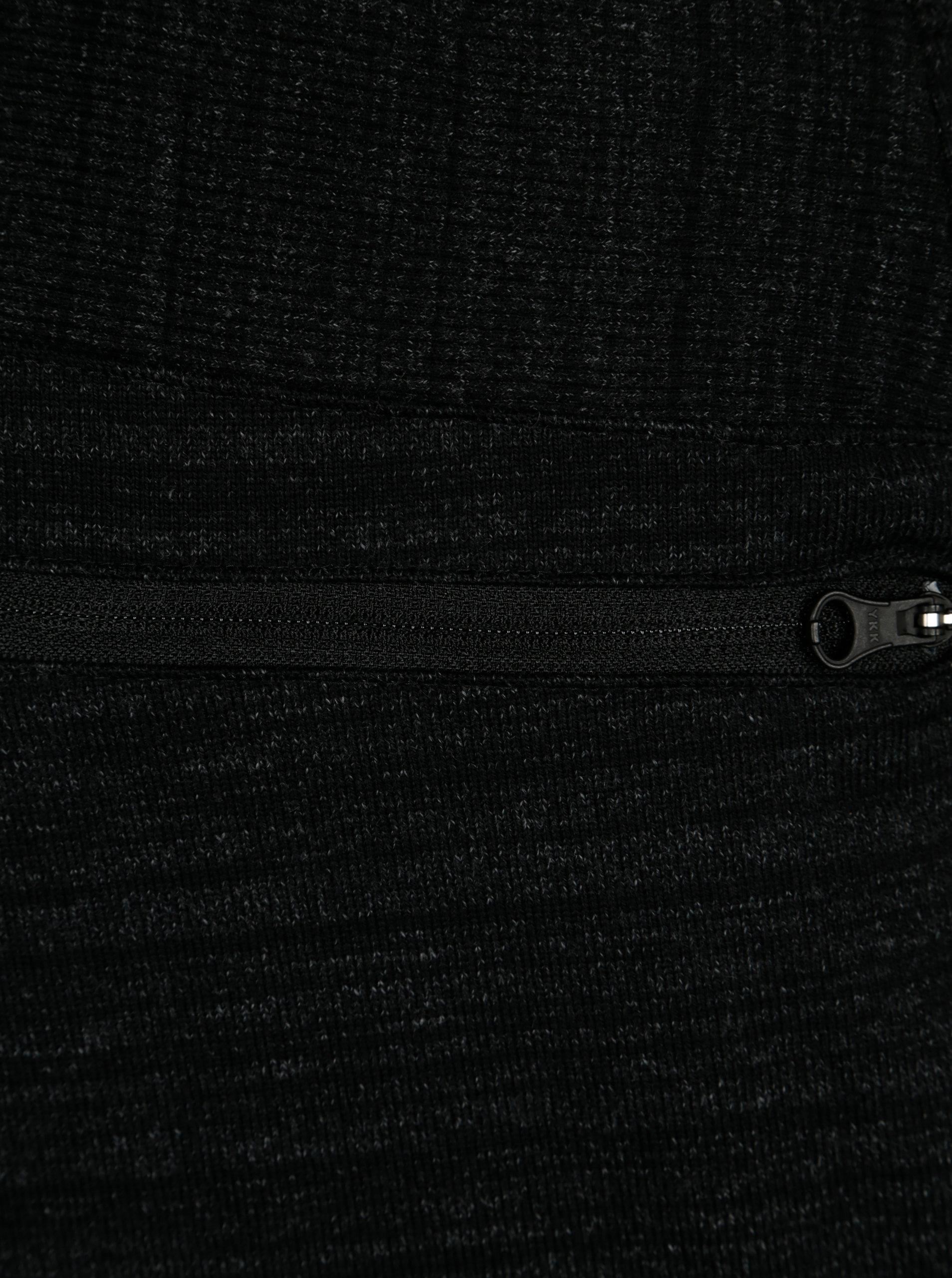 3a82cecf6a9a Tmavě šedé pánské žíhané standard fit tepláky Nike ...