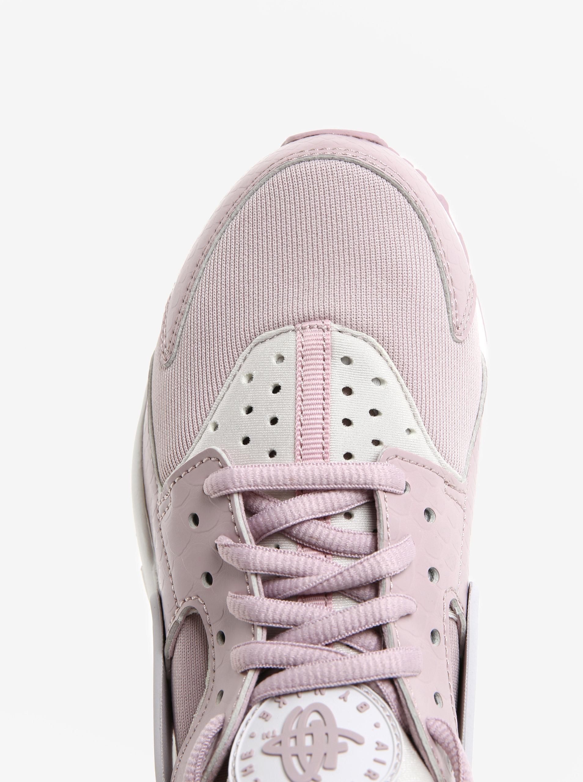 4623d6724e48 Starorůžové dámské tenisky Nike Air Huarache Run ...