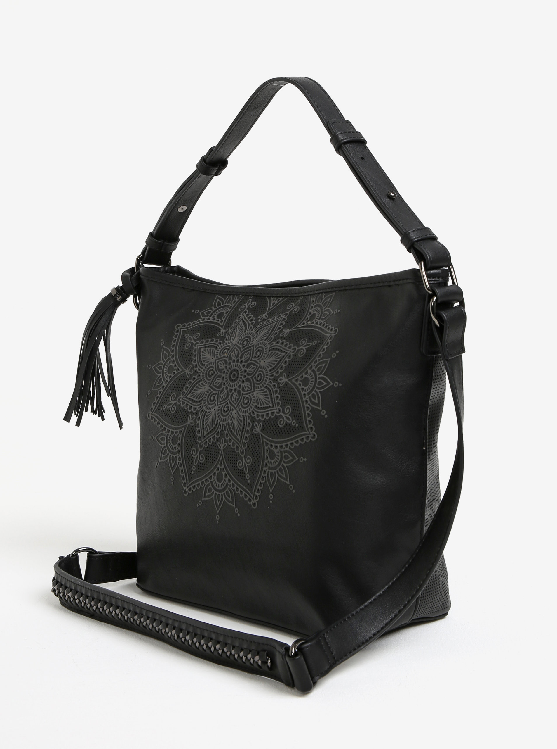 Černá crossbody kabelka Desigual Anonymous ... 3255e84a494