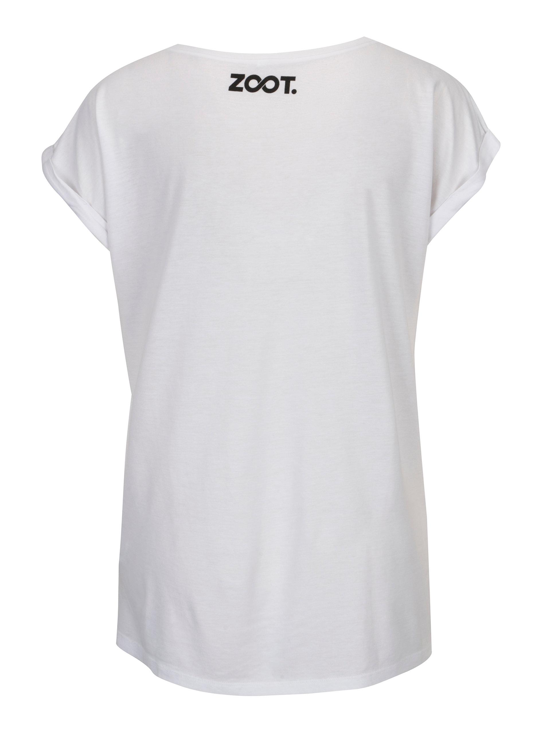 54ebeaffd35 Bílé dámské tričko s potiskem ZOOT Original Láska ...
