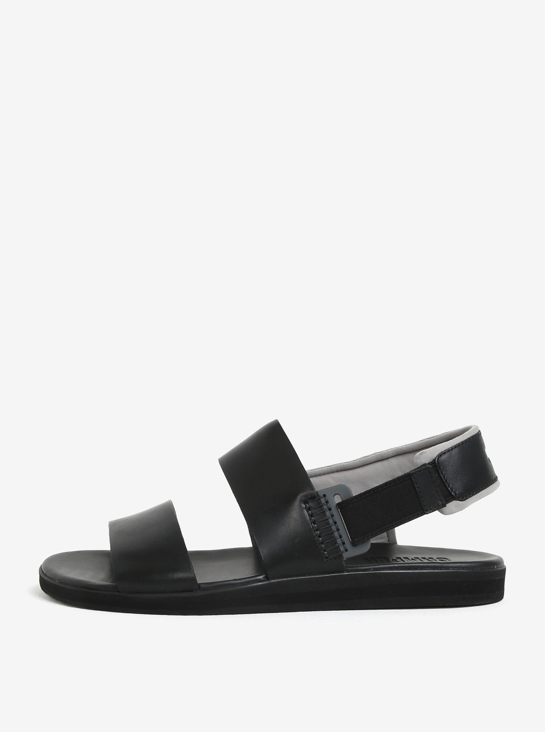 1ca1d0e767a0 Čierne pánske kožené sandále Camper ...