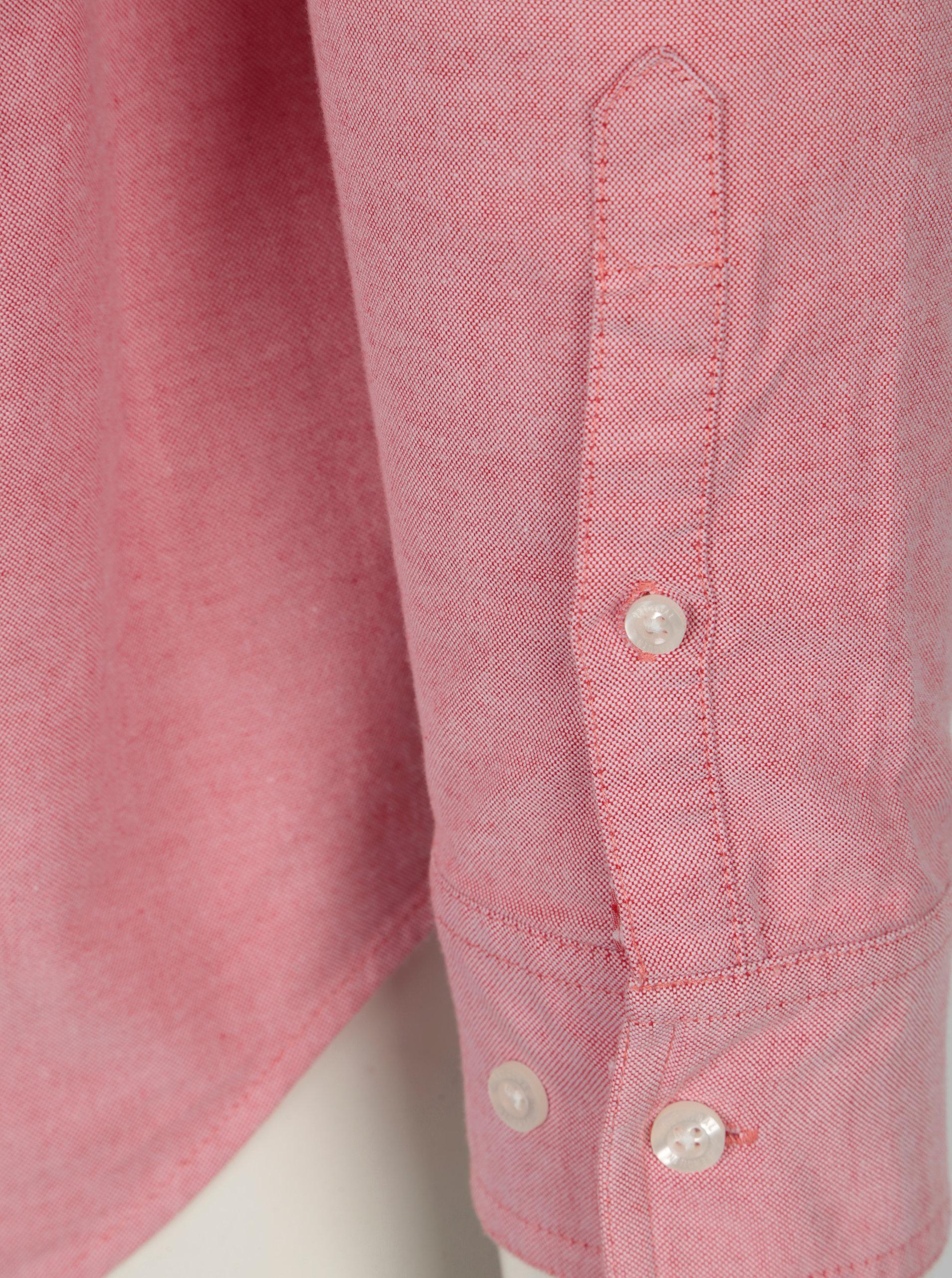 b08803f2718 Růžová košile s dlouhým rukávem Original Penguin ...