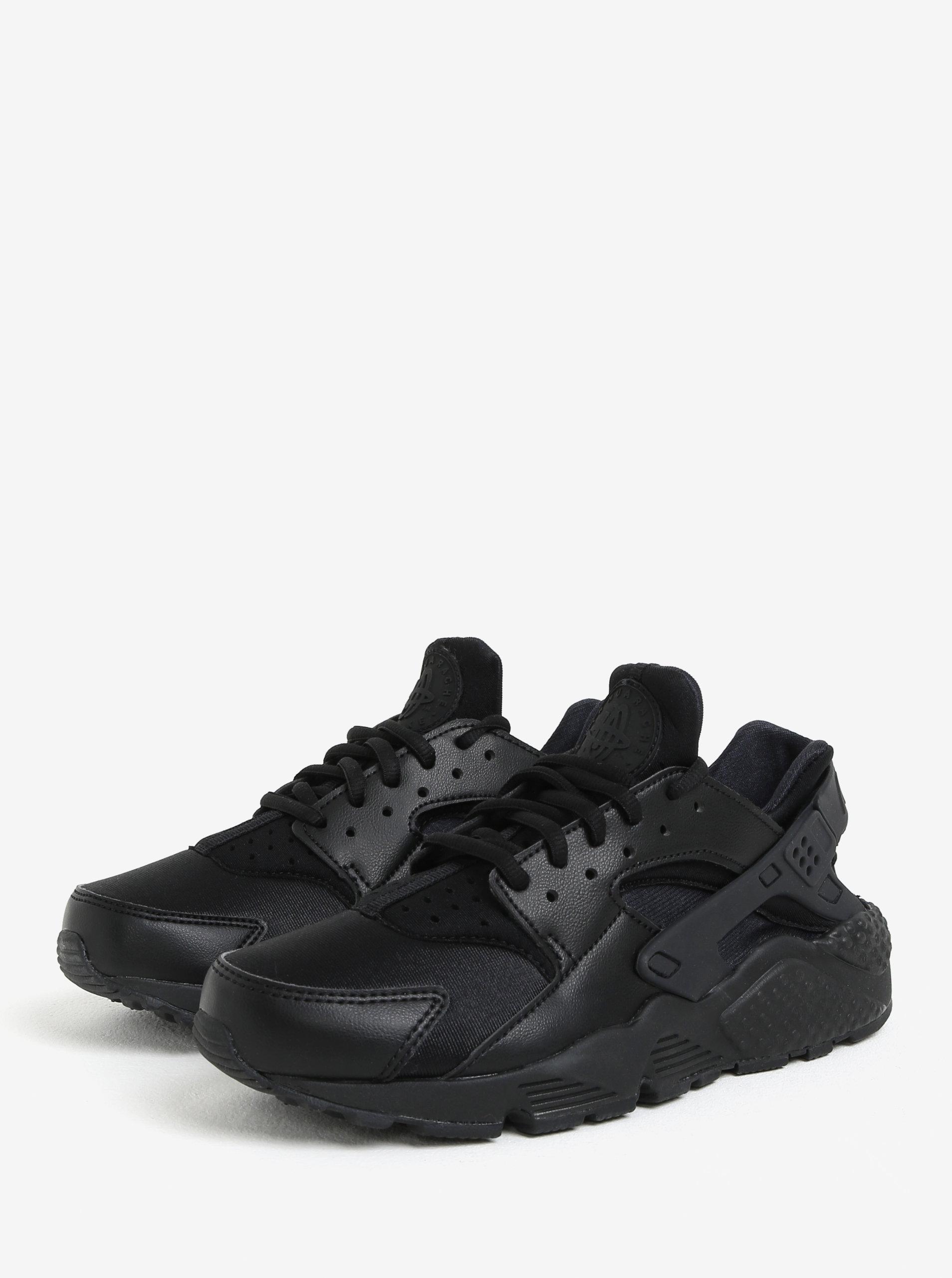Černé dámské tenisky Nike Air Huarache Run ... 507914f2d43