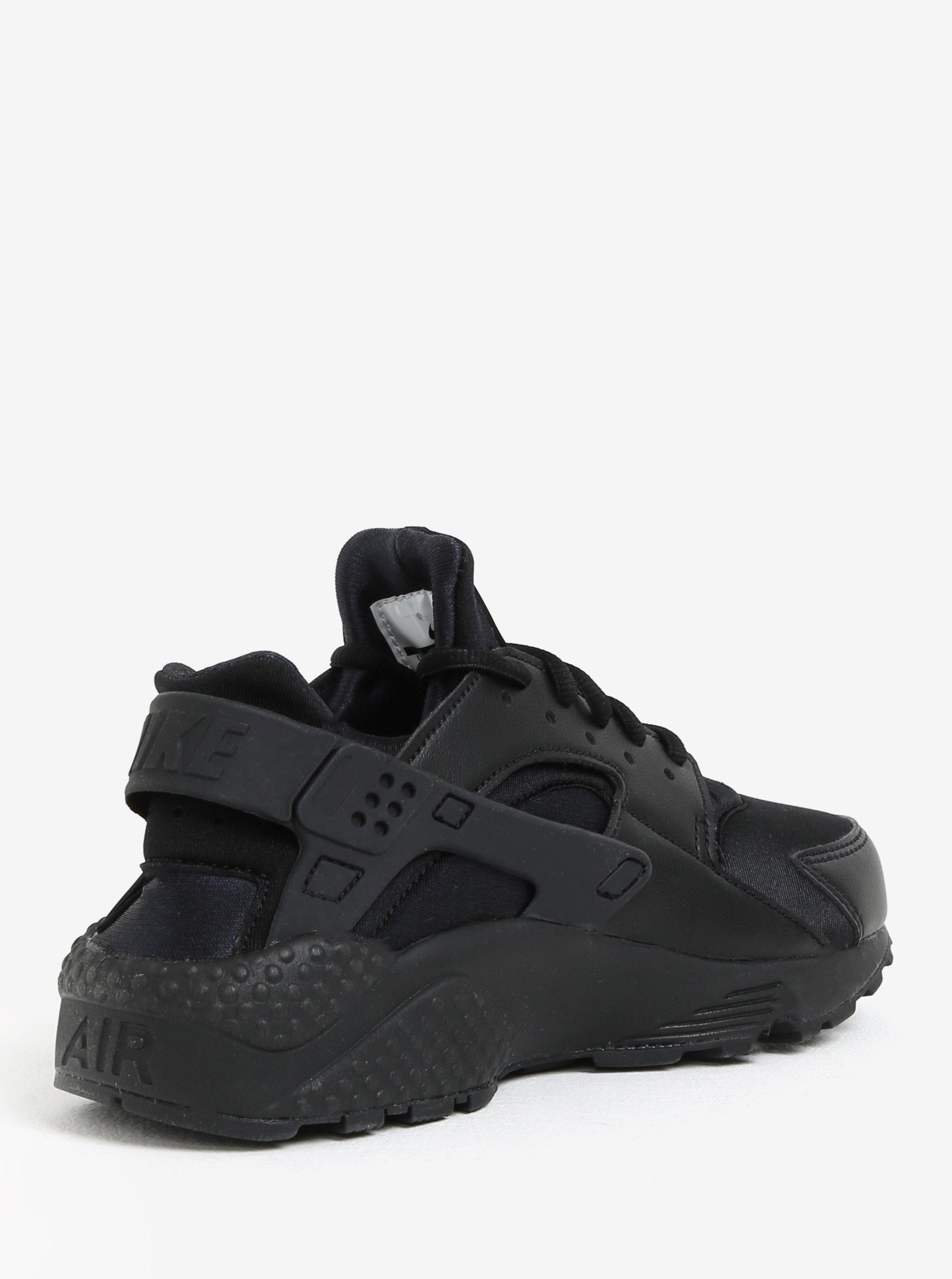 Černé dámské tenisky Nike Air Huarache Run ... a2afa74c620
