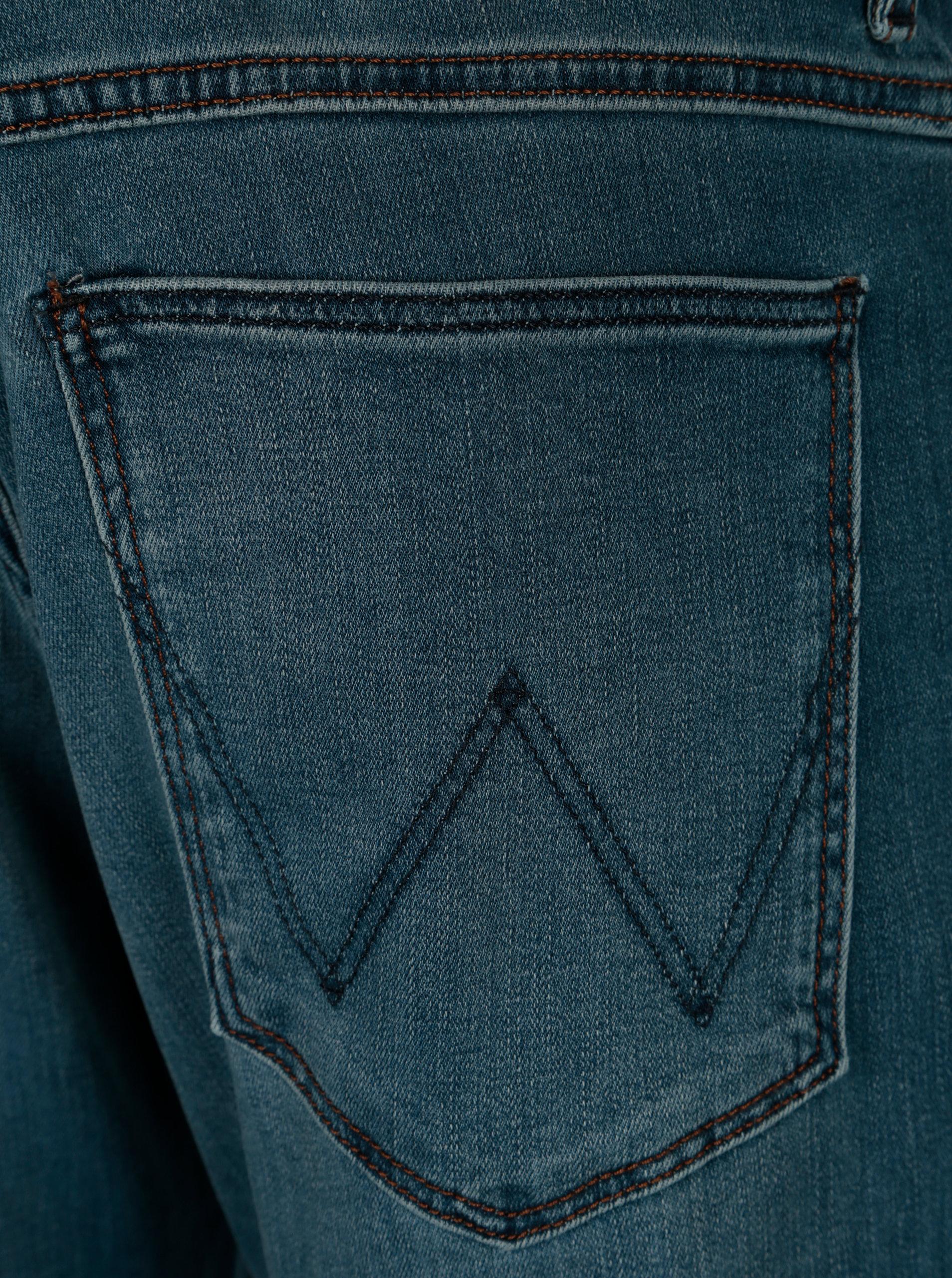 Modré pánské džíny Wrangler Arizona ... 0e121dc6cb