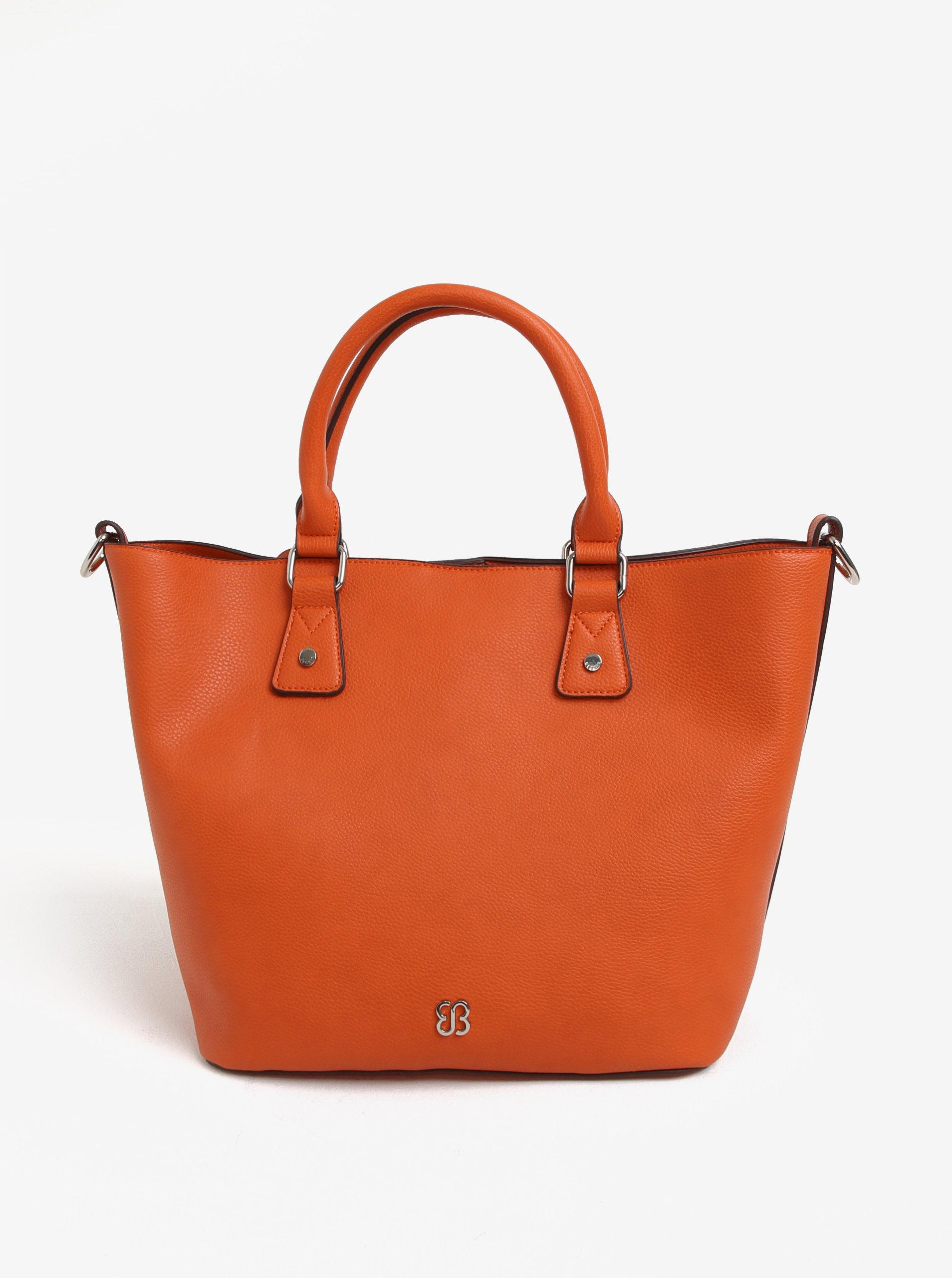 78318ea50e Oranžová kabelka s puzdrom Bessie London ...
