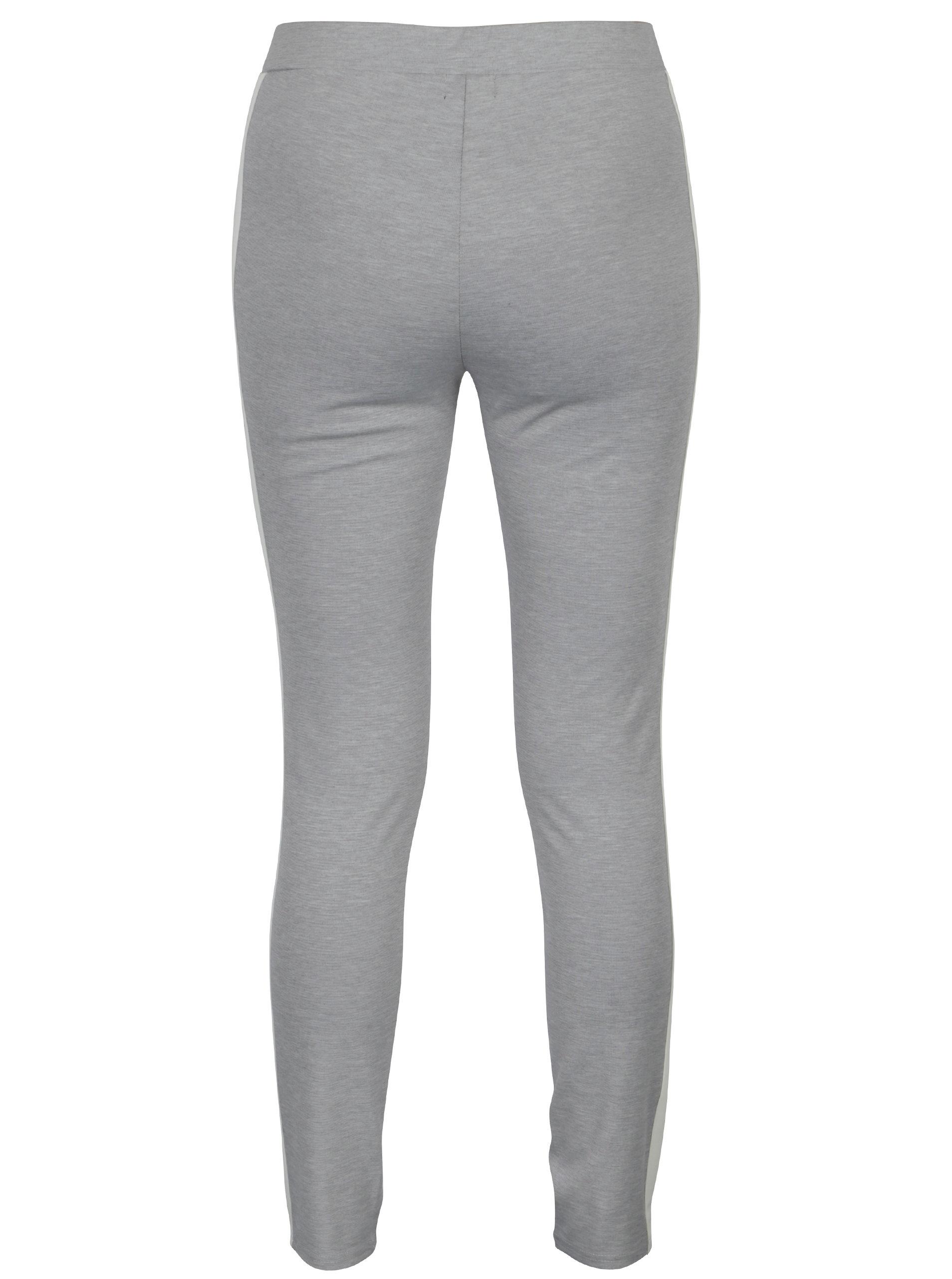 df1259bca Bielo–sivé dámske legíny Broadway Cara | ZOOT.sk