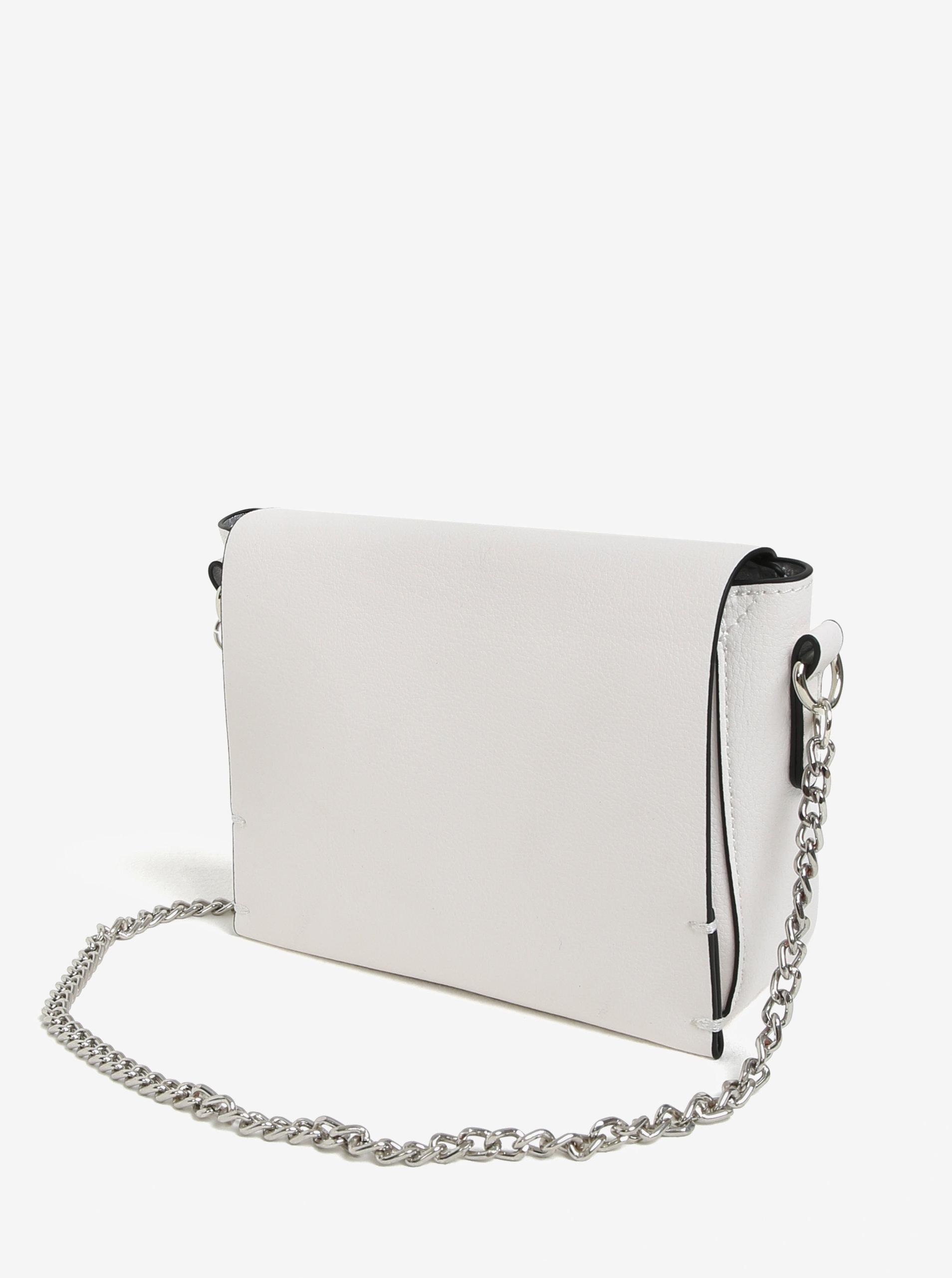 b68195b89 Biela crossbody kabelka s retiazkou Miss Selfridge | ZOOT.sk
