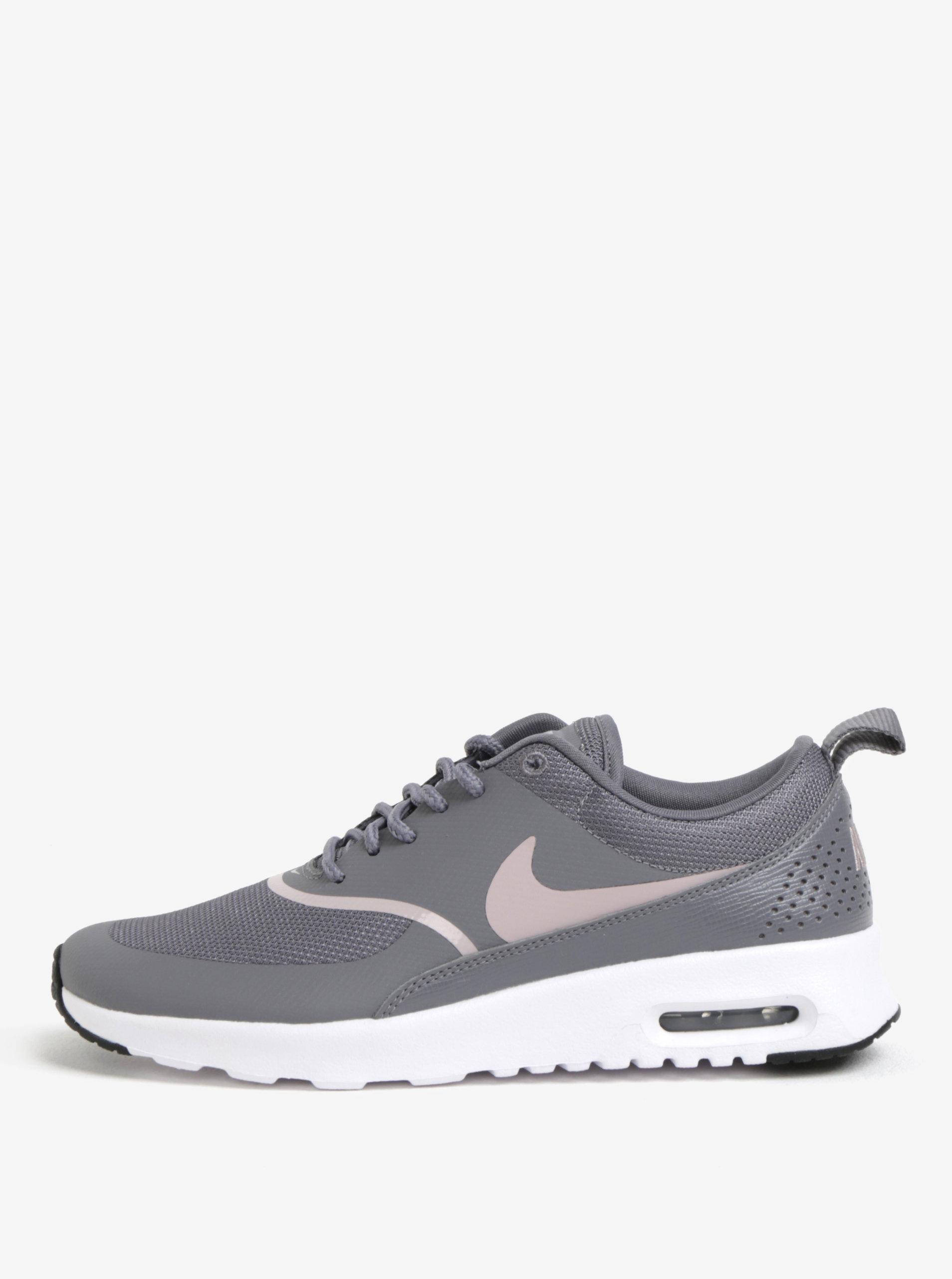 Šedé dámské tenisky Nike Air Max Thea ... bc7402c73e6