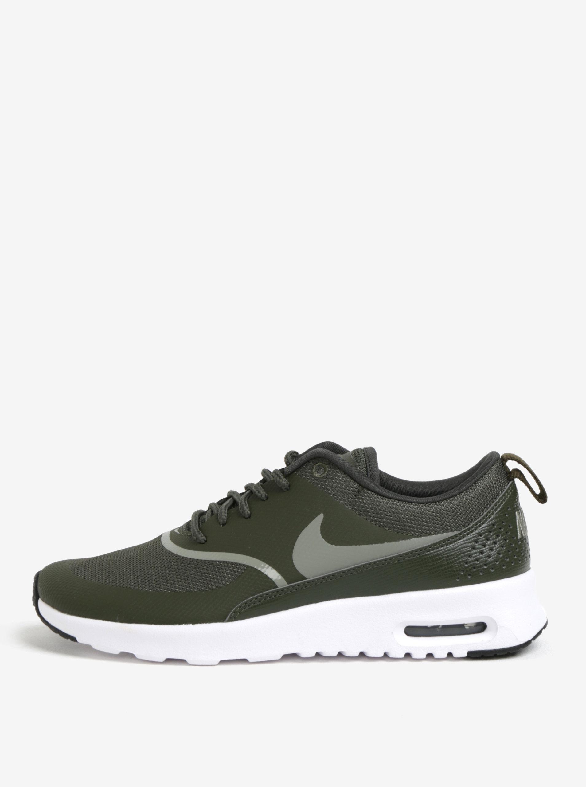 a2be2b8e077e Zelené dámske tenisky Nike Air Max Thea ...