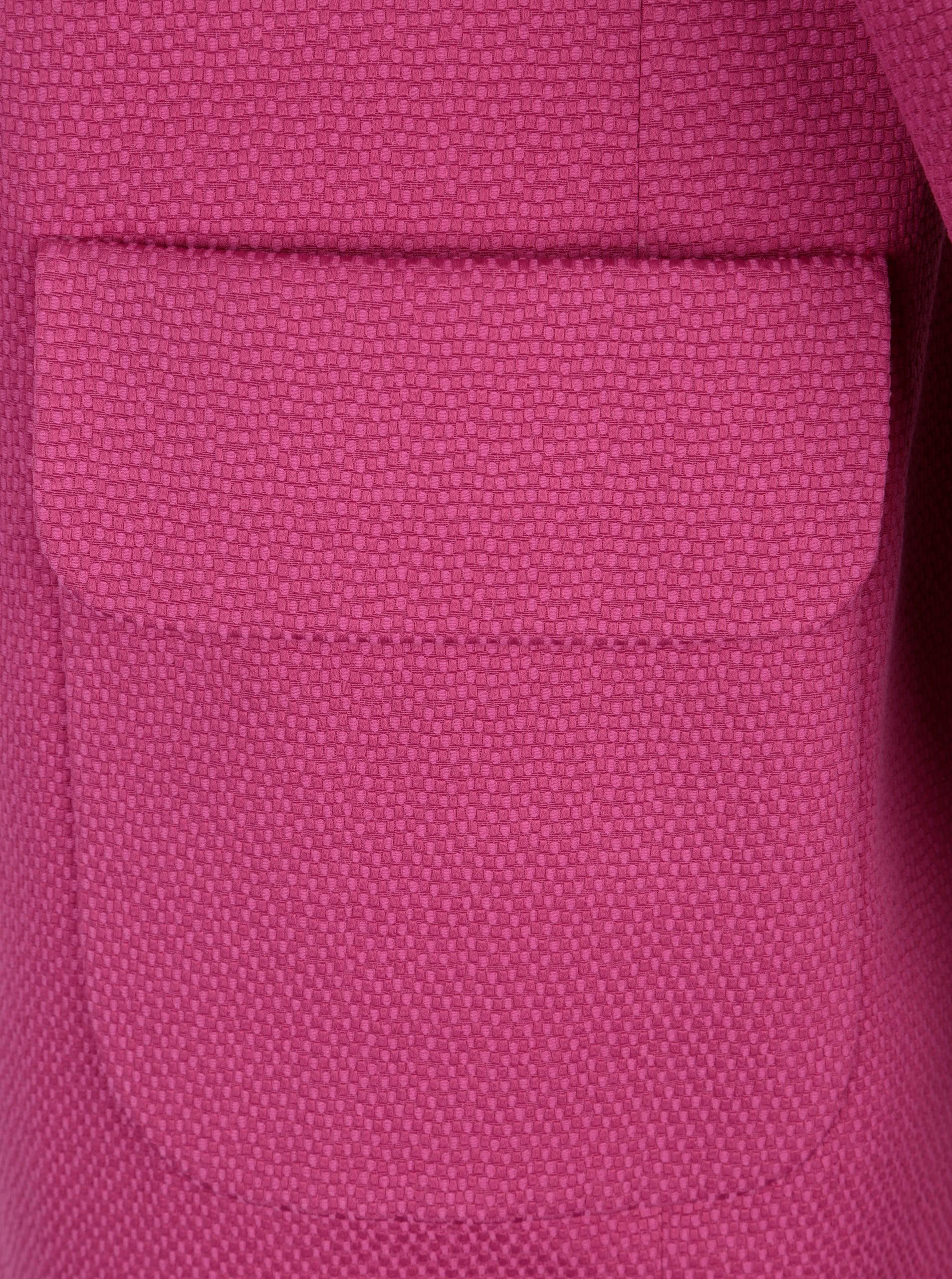 398eea7316 Ružový dámsky kabát Pietro Filipi ...