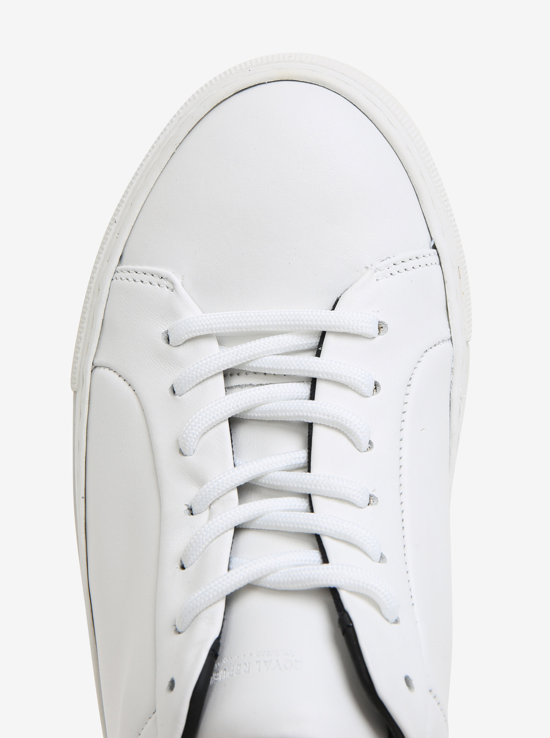 c86f7627d3 Béžovo-biele dámske kožené tenisky Royal RepubliQ ...