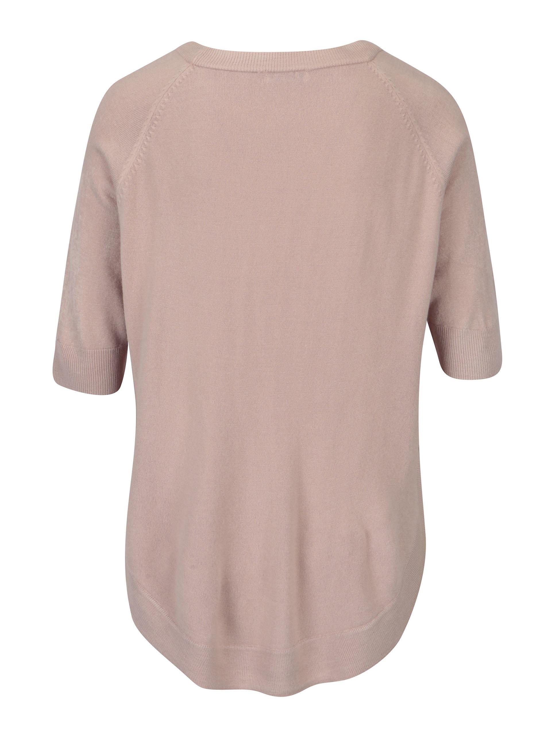 Růžový volný svetr Jacqueline de Yong Limbo ... 7dea812b72