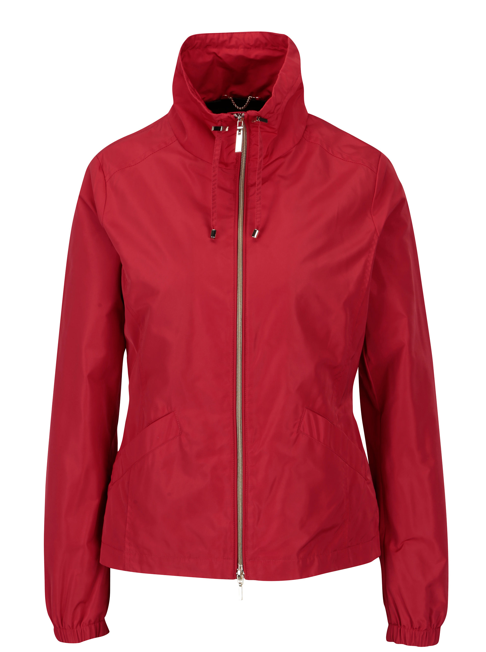 Červená dámska funkčná bunda Geox ... 47be2152389