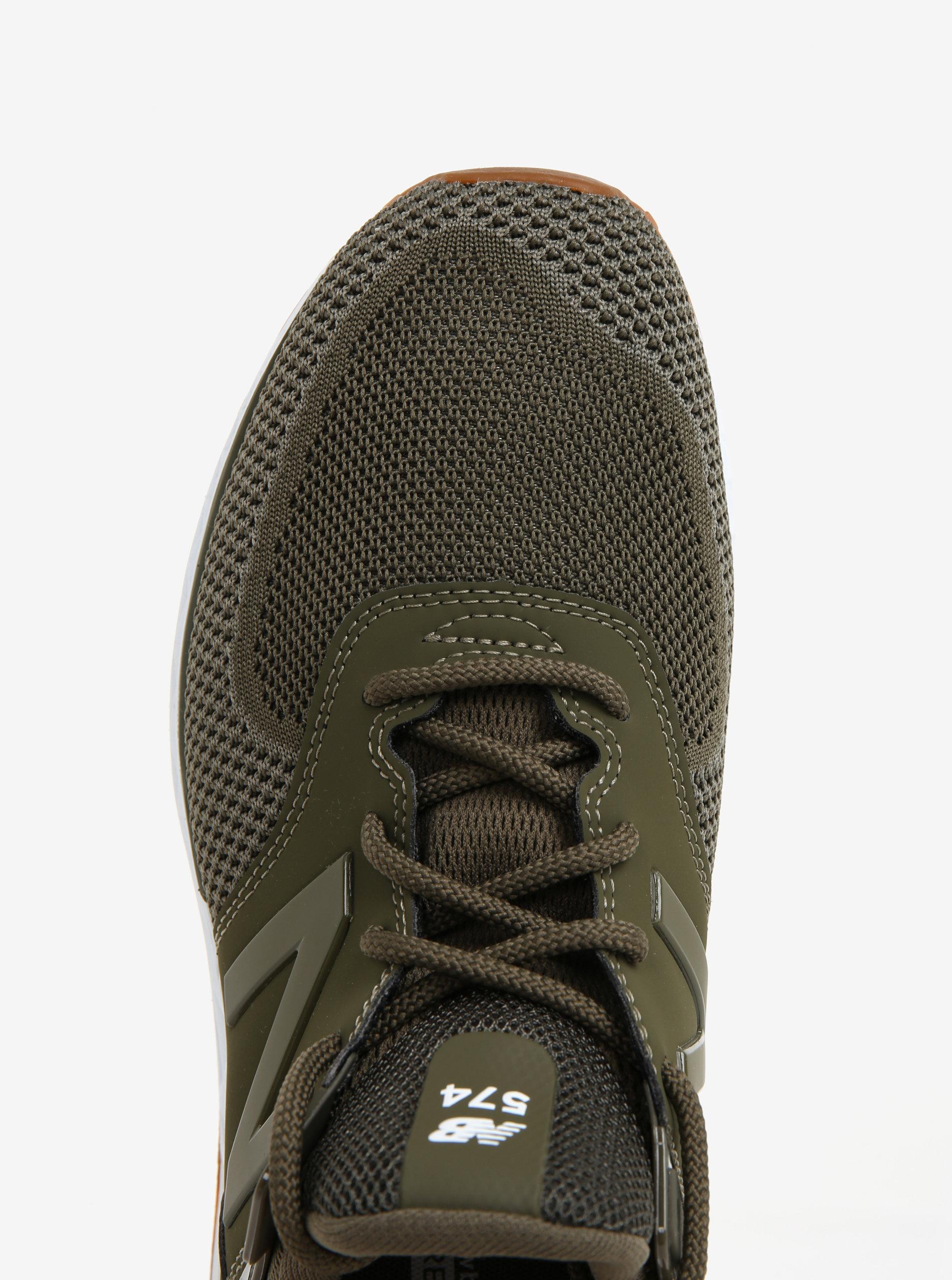 46aee50f867 Khaki pánské tenisky New Balance MS574 ...