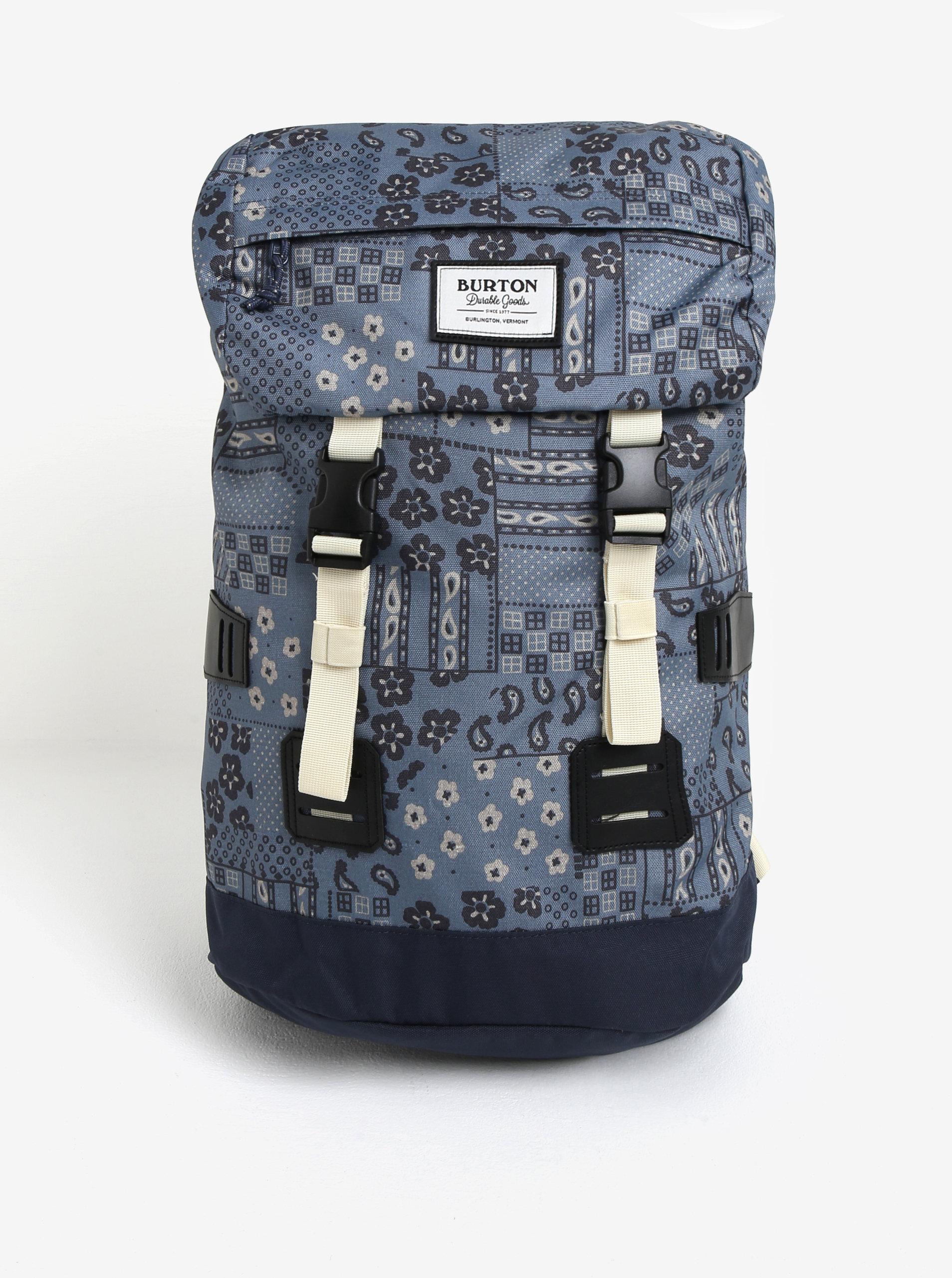 fdf6550b4e Modrý vzorovaný batoh Burton Tinder 25 l ...
