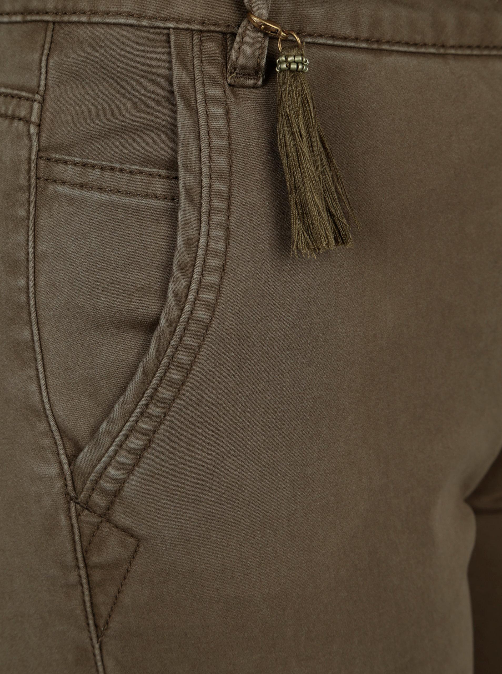 43593490d24 Khaki kalhoty s kapsami a páskem ONLY Cole ...
