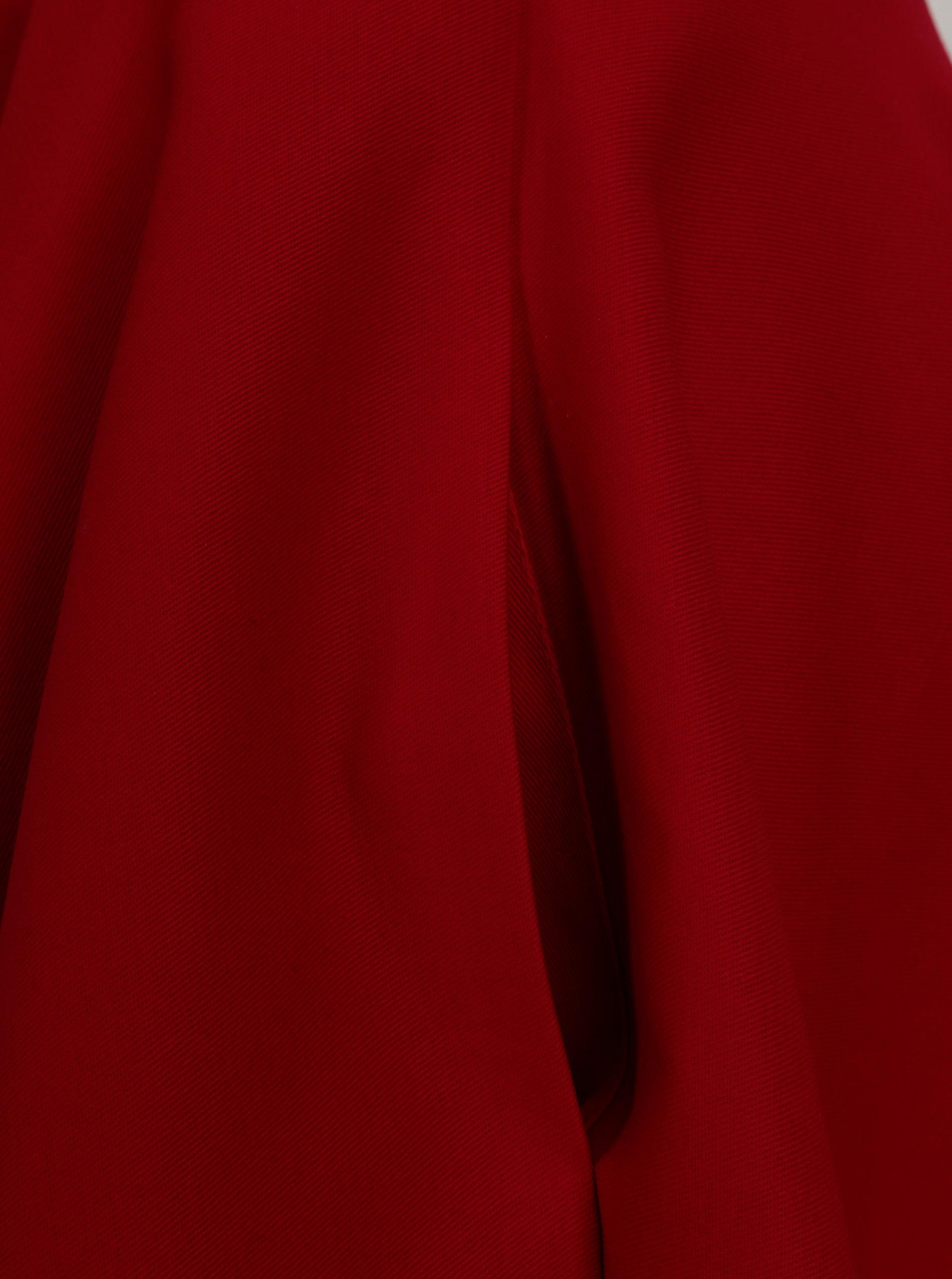 83652285f6f9 Červená kolová sukně MONLEMON Lantern ...