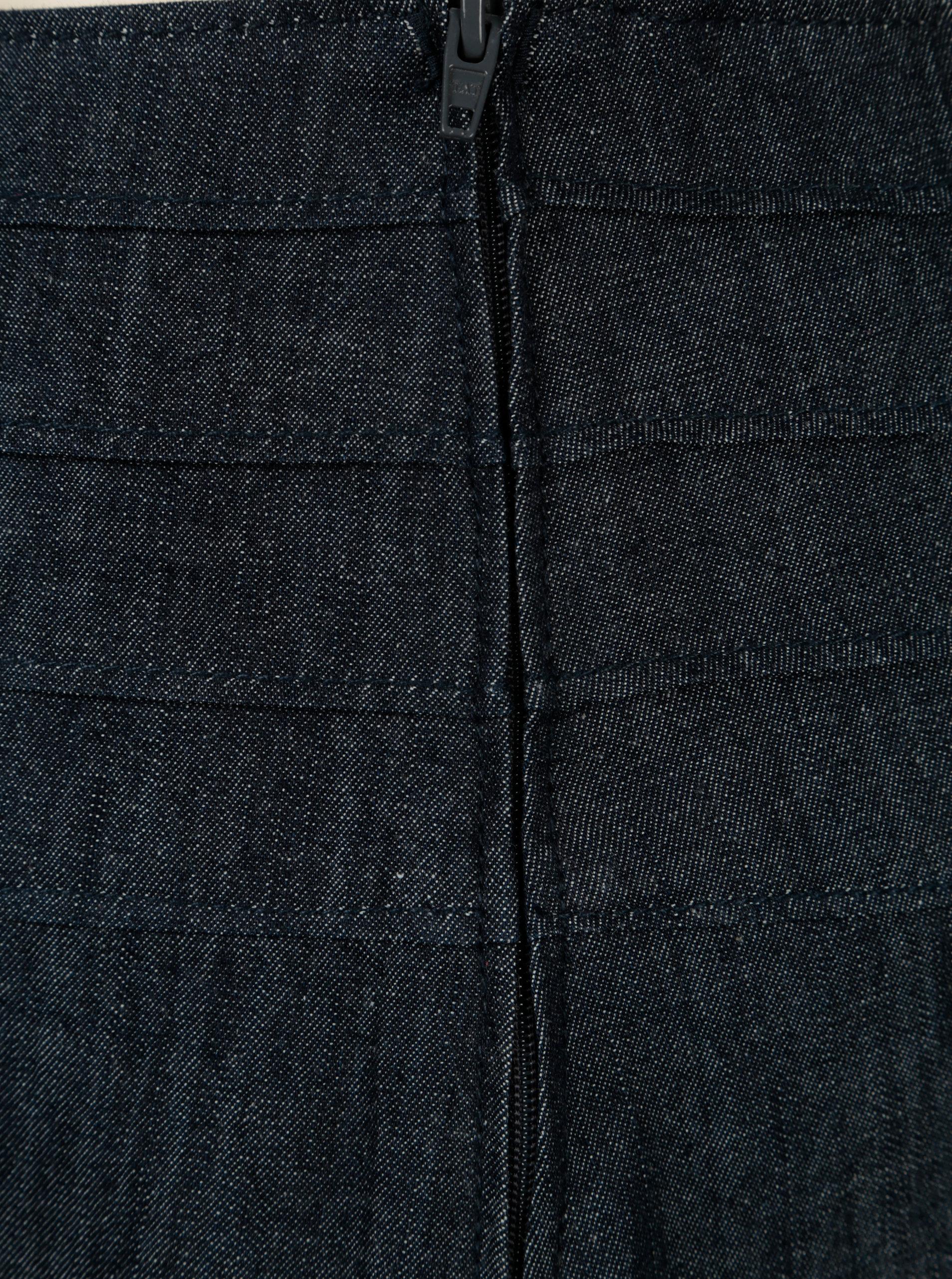Tmavě modrá džínová balónová sukně Tranquillo Brassia ... a5d00cb4fc