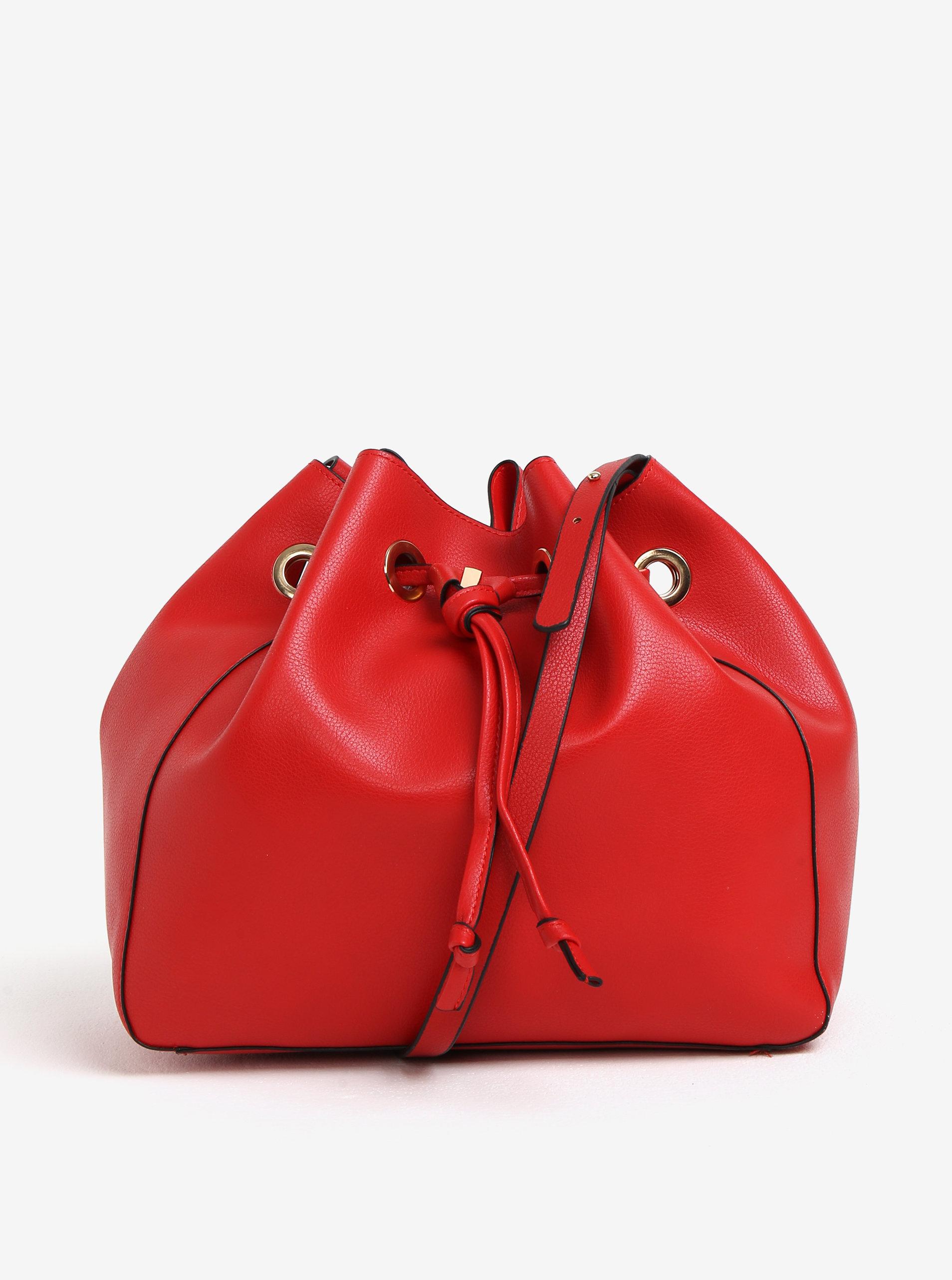 Červená vaková kabelka MISSGUIDED