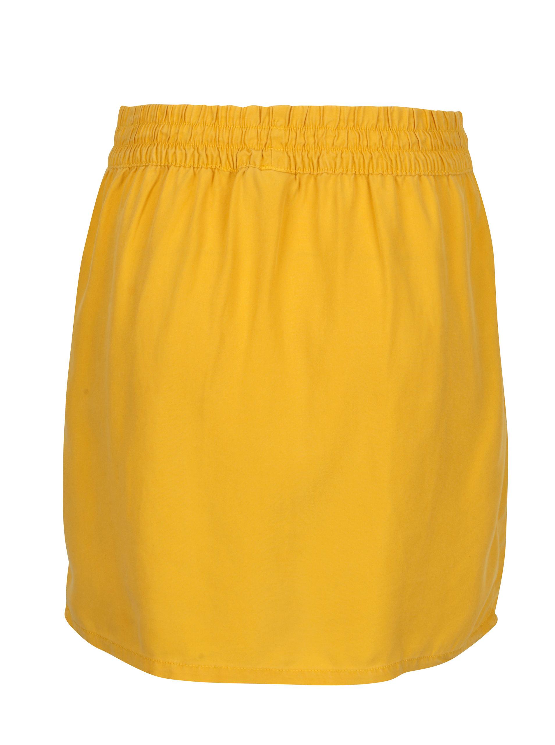 Žlutá sukně Noisy May Haylie ... 6a96b1567a