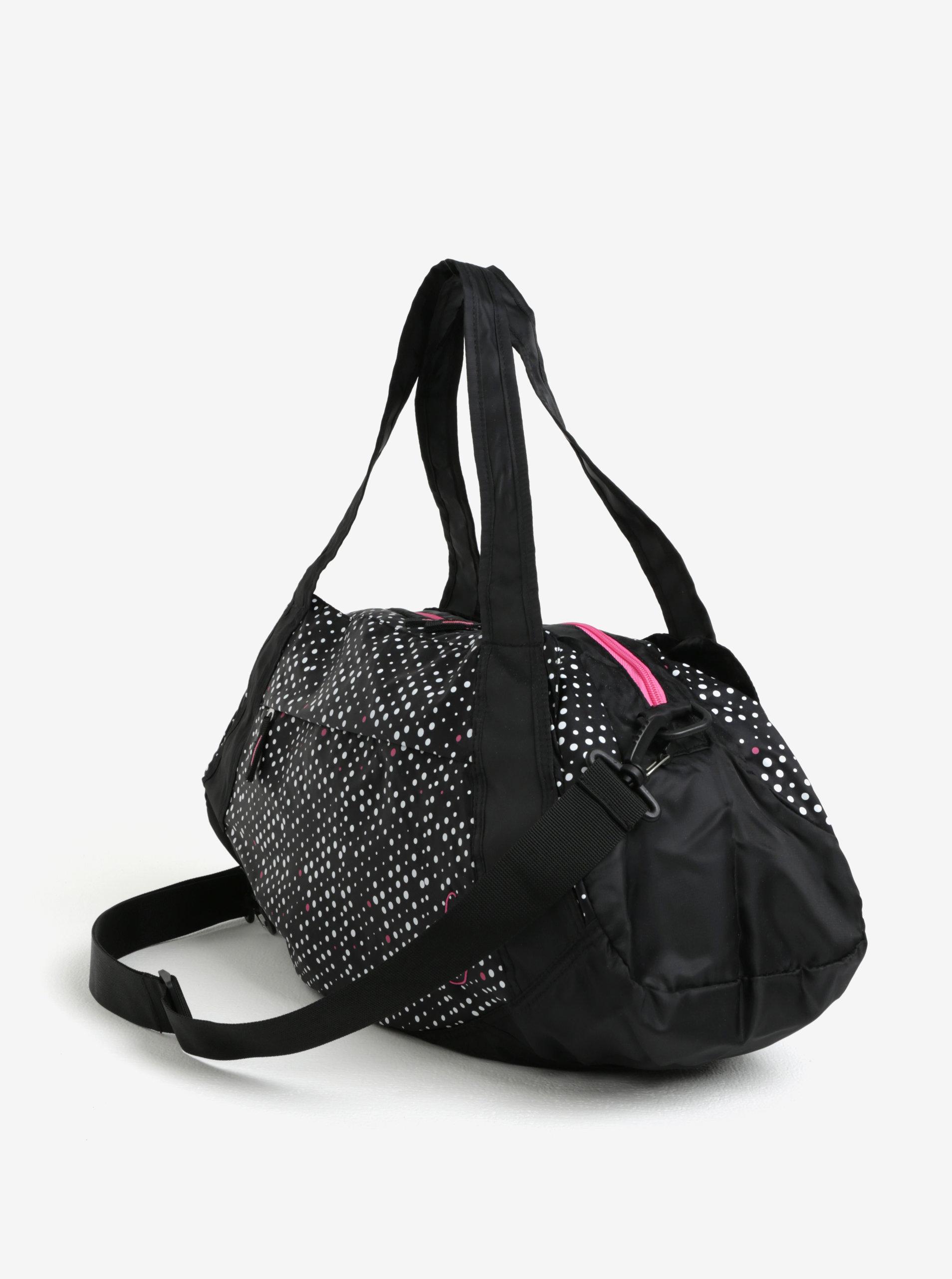 dd367e650c6 Černá vzorovaná sportovní taška LOAP Sandrine 30 l ...