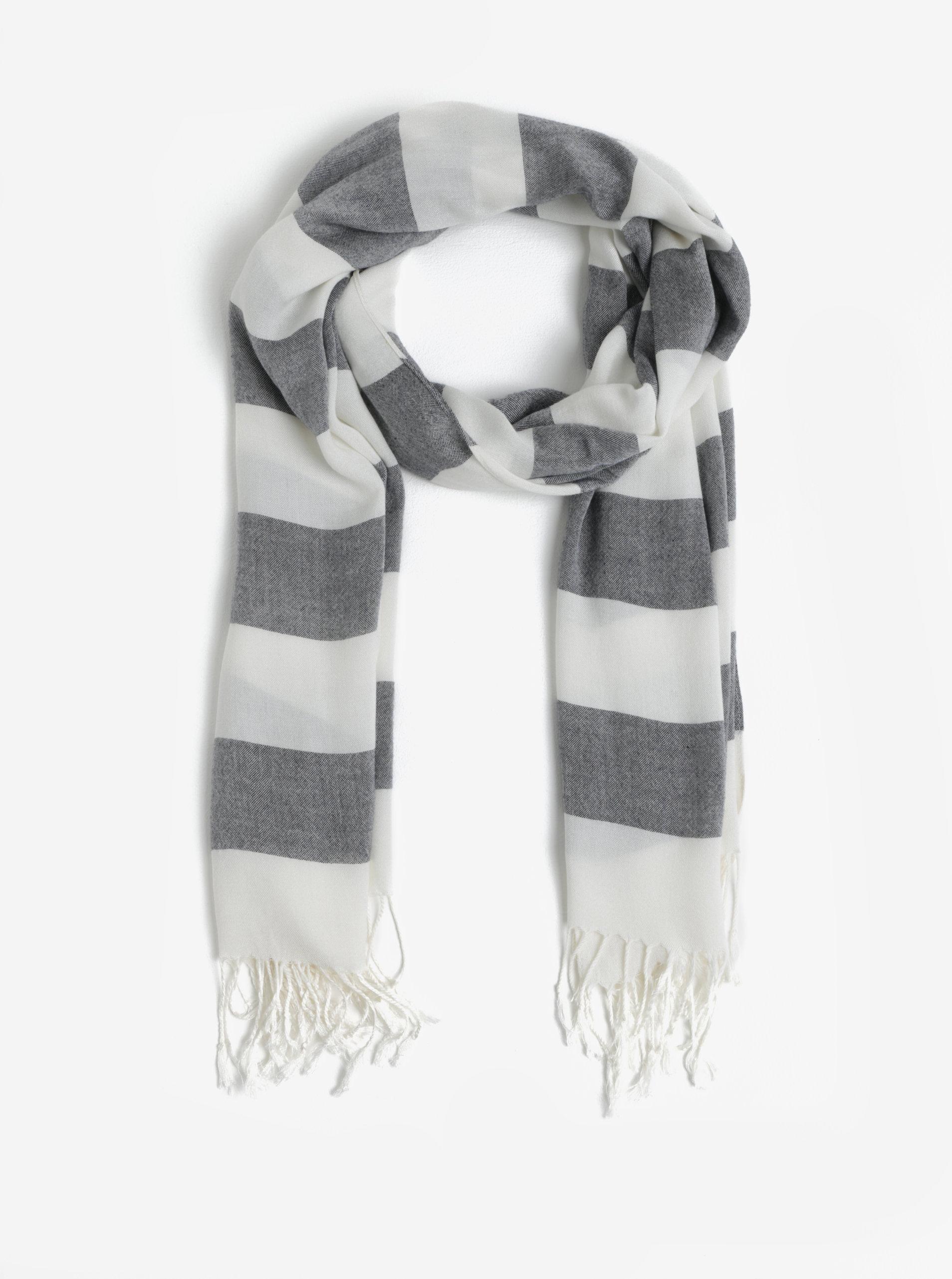 c9cdf7455 Tmavě modrý pruhovaný dámský šátek GANT | ZOOT.cz