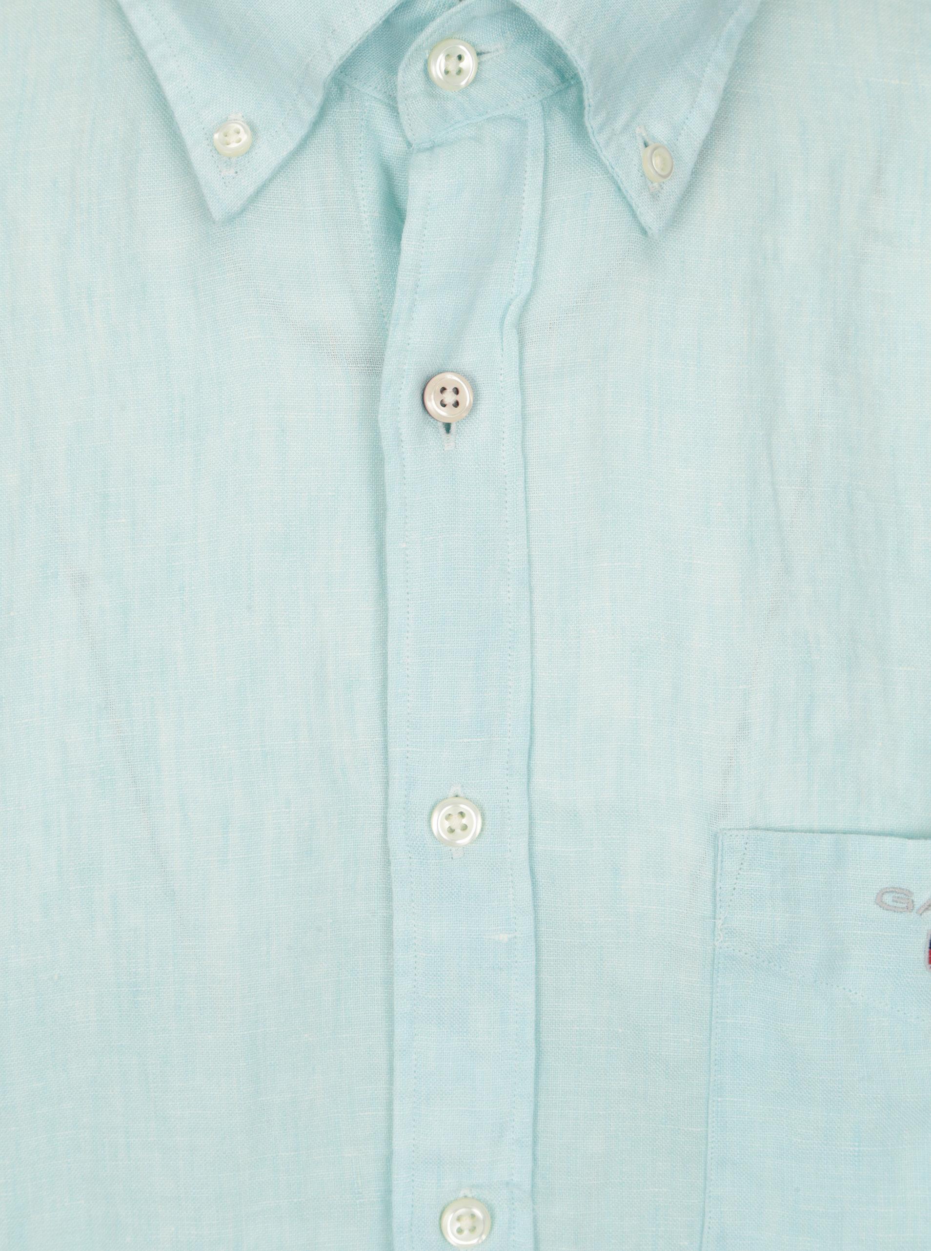 0bfbe22432c4 Svetlomodrá pánska regular košeľa GANT ...