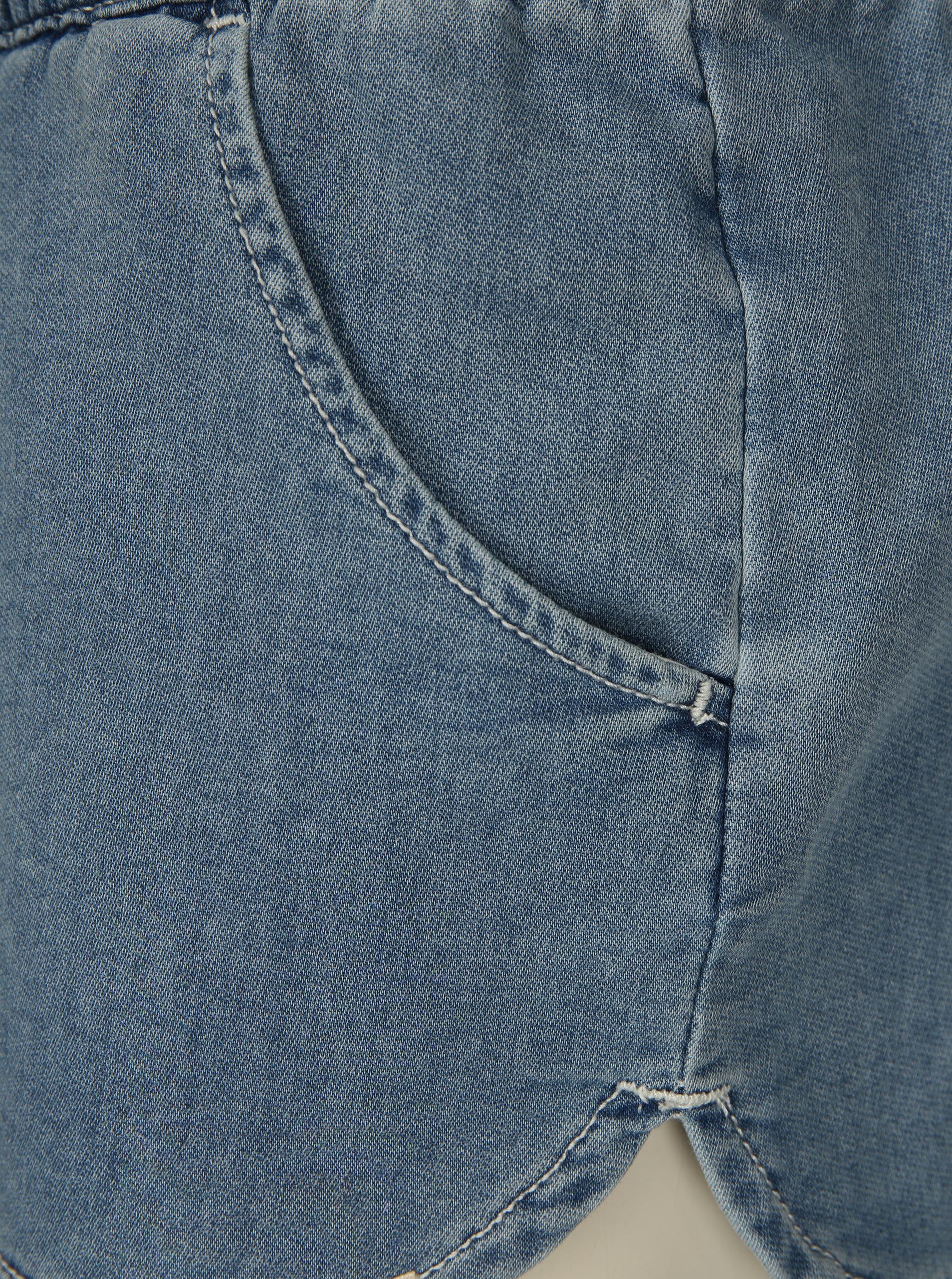 ceb93f8e242 Světle modré dámské džínové kraťasy Rip Curl ...