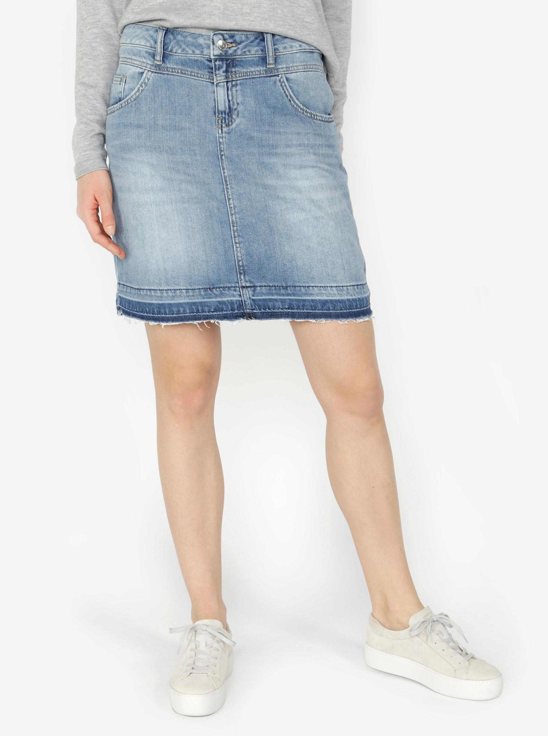 Modrá džínová sukně s.Oliver  ba1638c2e5