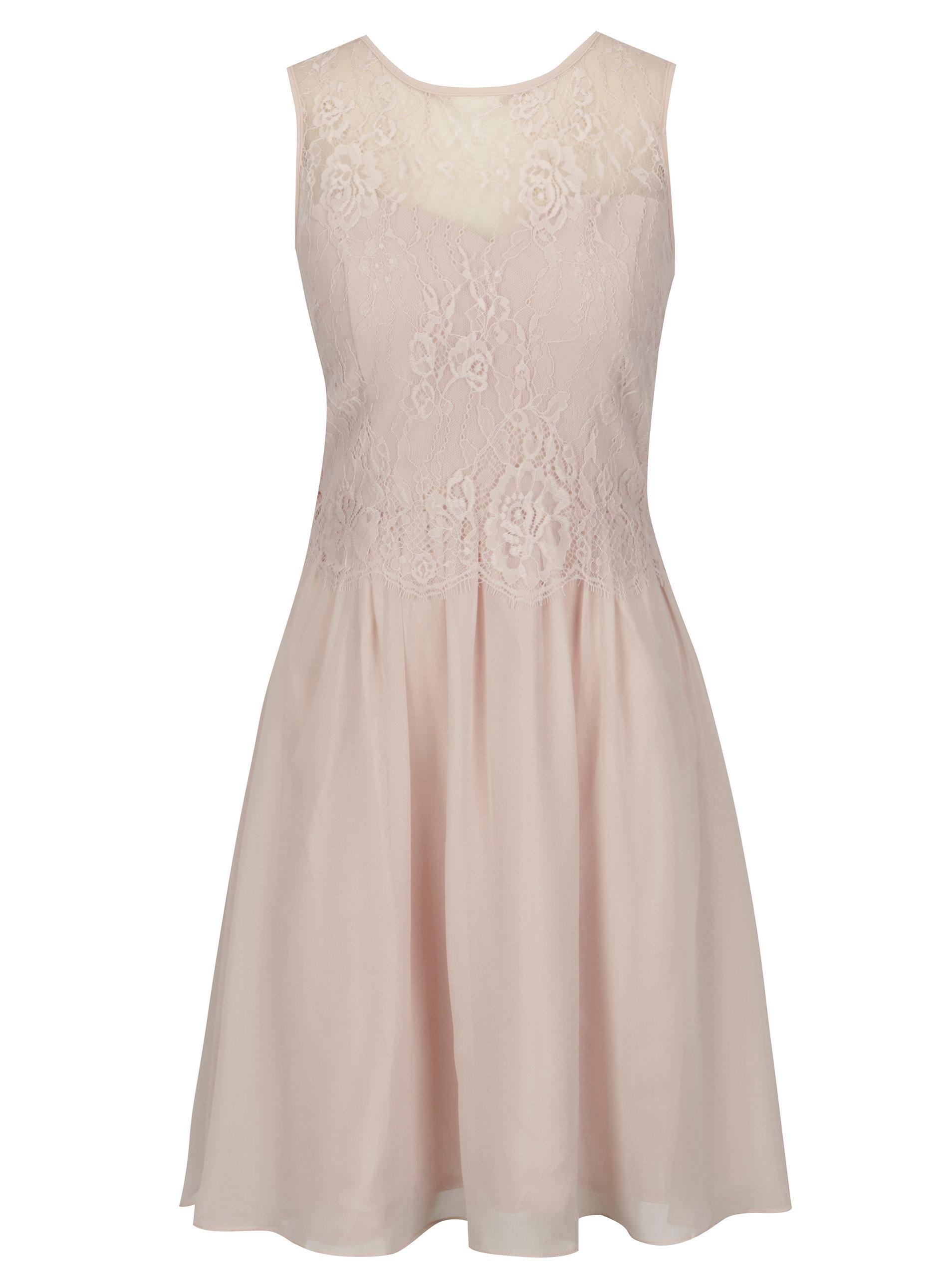 Starorůžové společenské šaty Dorothy Perkins