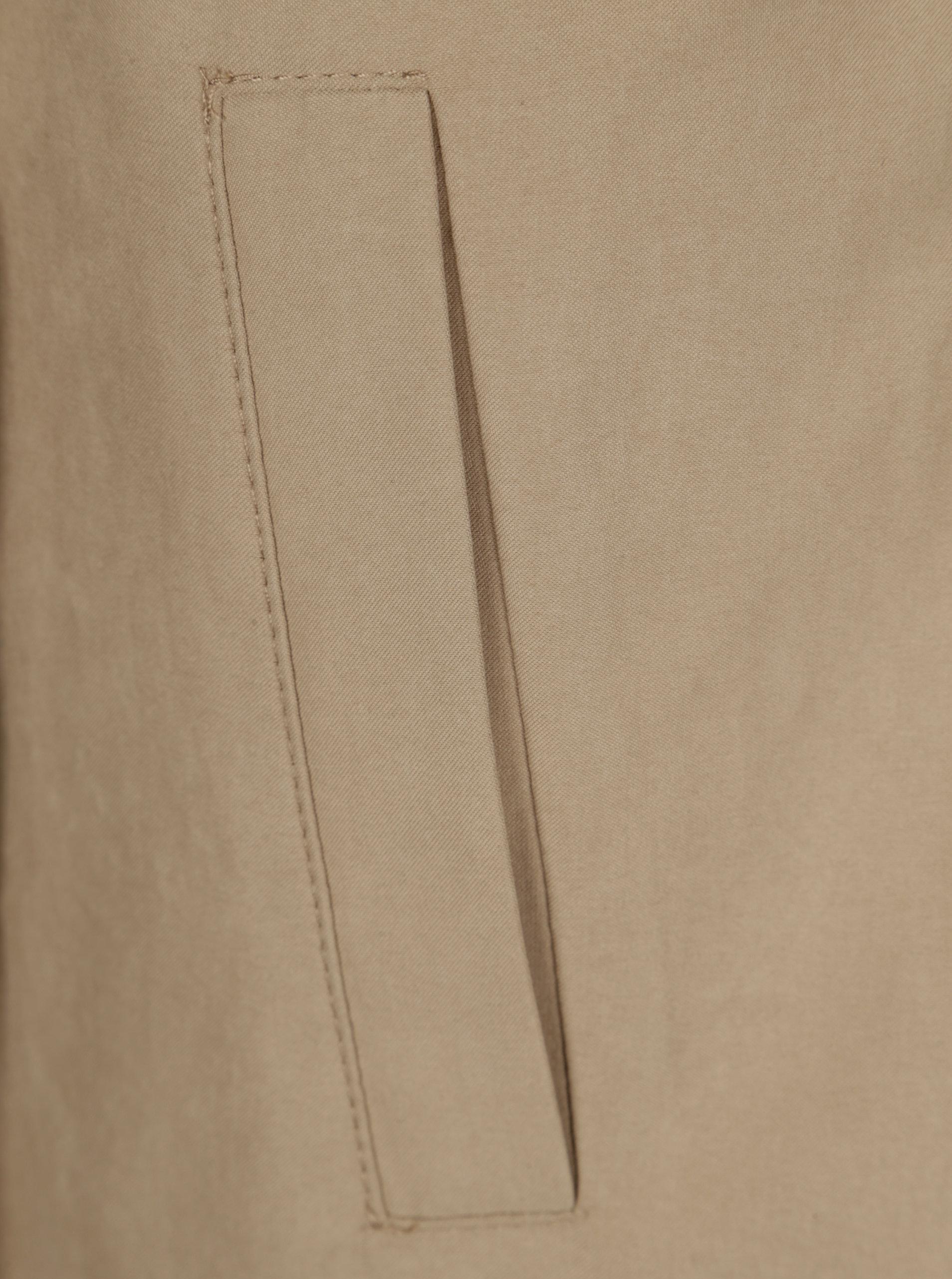 Béžový lehký kabát s páskem Dorothy Perkins Tall ... db6ae8287ec