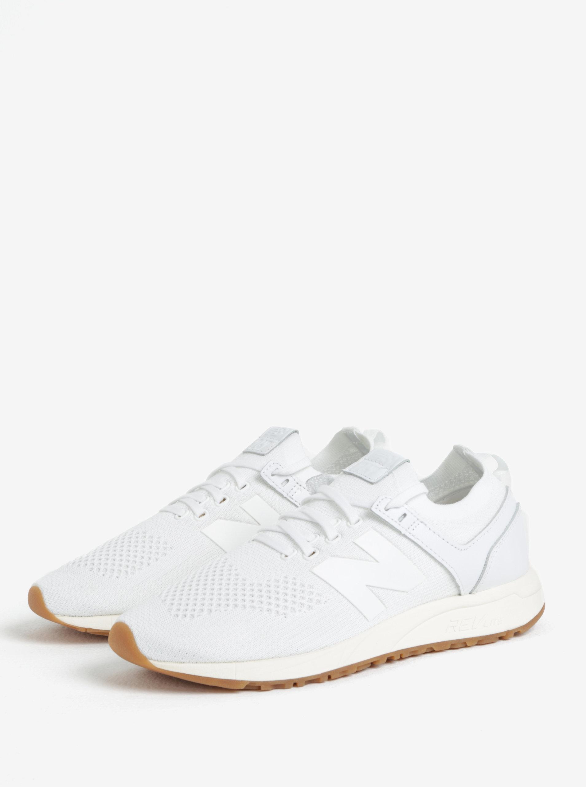 Bílé pánské tenisky New Balance MRL247 ... 71cd6b737d9