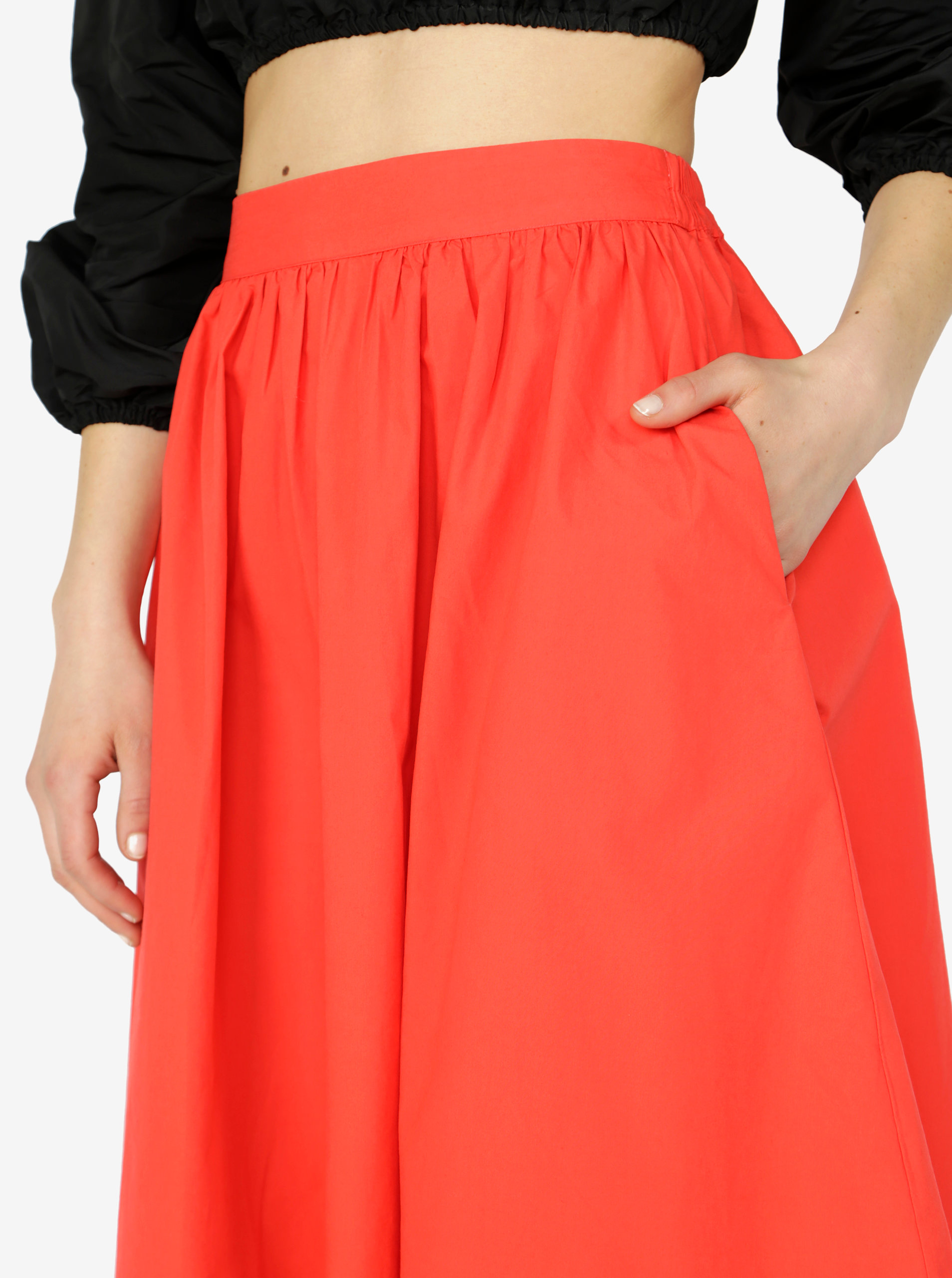 a1ba8c33ede2 Červená sukňa VERO MODA Ladina ...