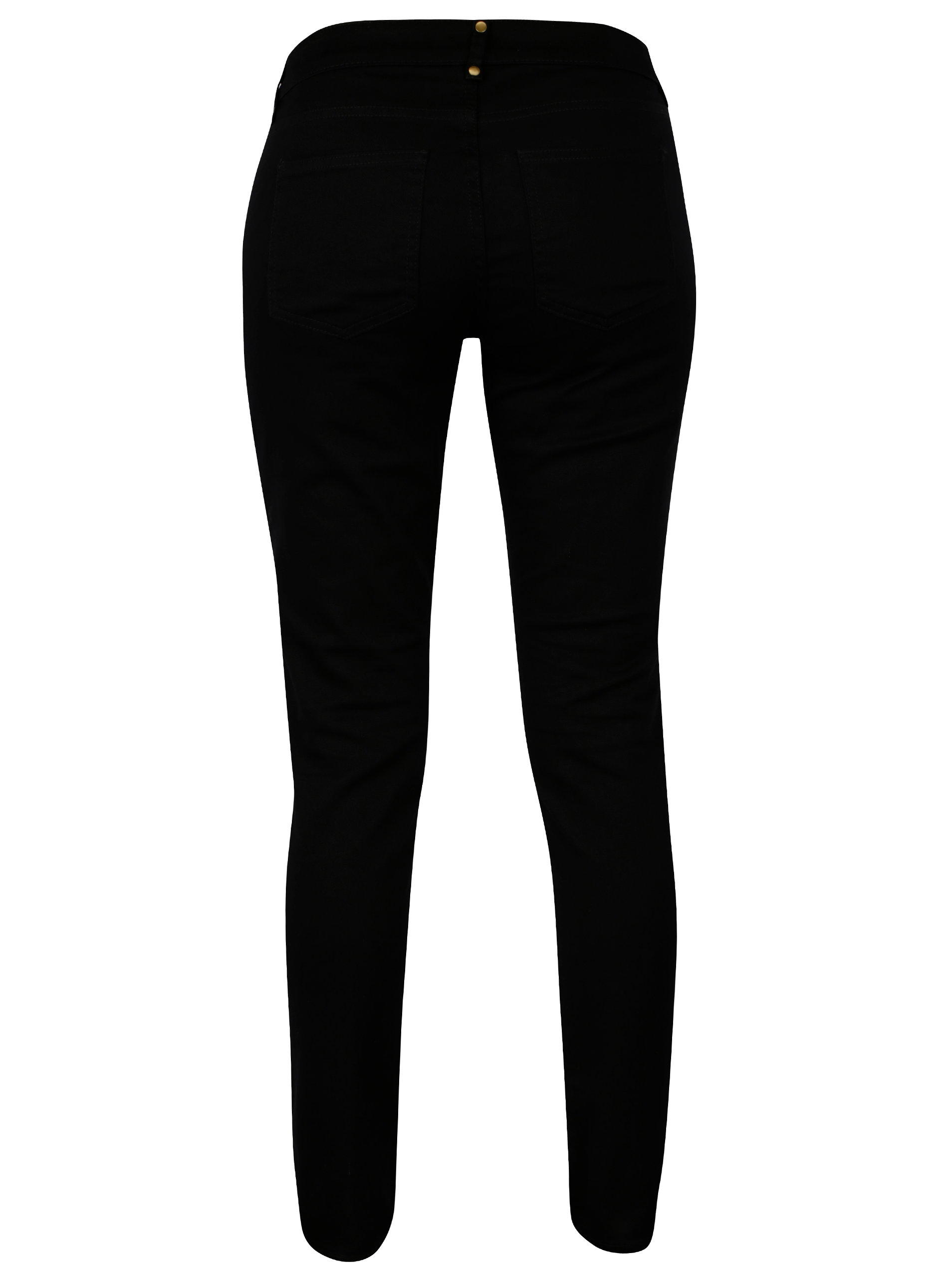 299f545c455 Černé skinny džíny se cvočky Scotch   Soda ...